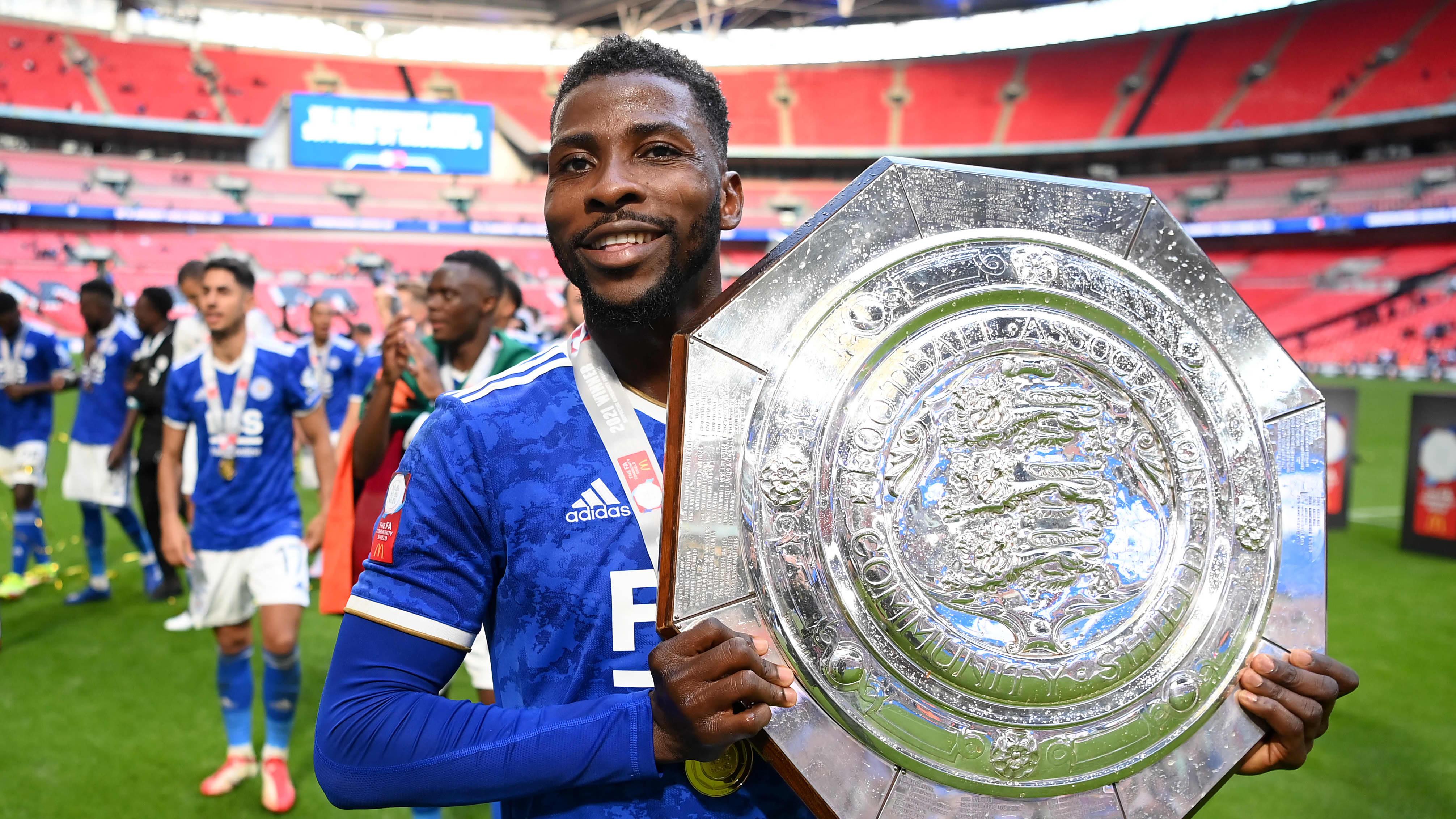 Leicester Cityn hyökkääjä Kelechi Iheanacho.