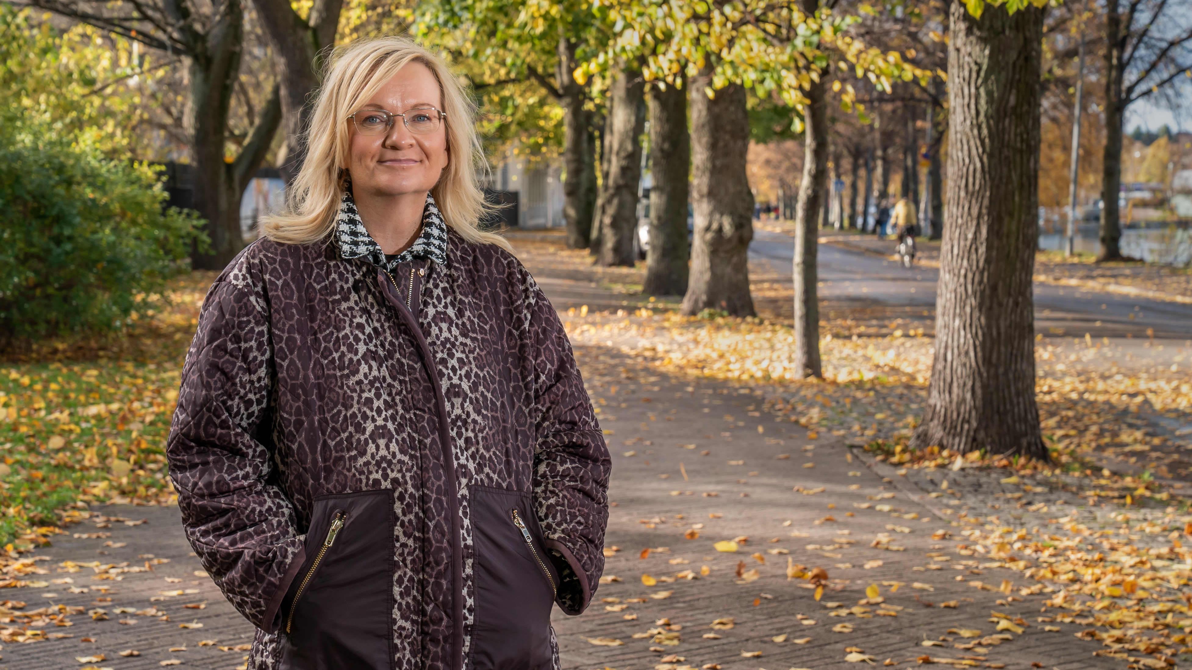 Henkilökuvassa, puheenjohtaja Päivi Niemi-Laine JHL