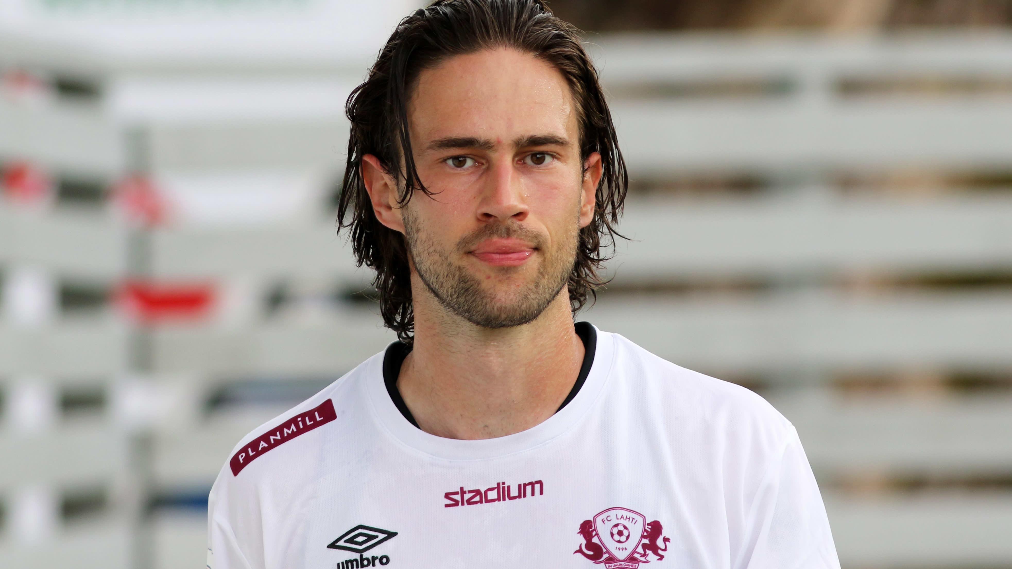 Vahid Hambo edusti viime kaudella FC Lahtea. Kuva vuodelta 2020.