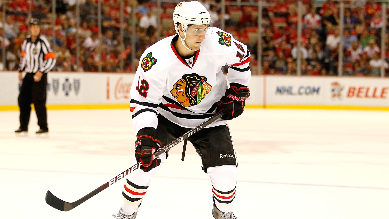 Chicago Blackhawksin pelaaja Kyle Beach vuonna 2010.