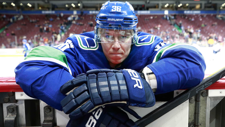 Jussi Jokinen Vancouver Canucksissa
