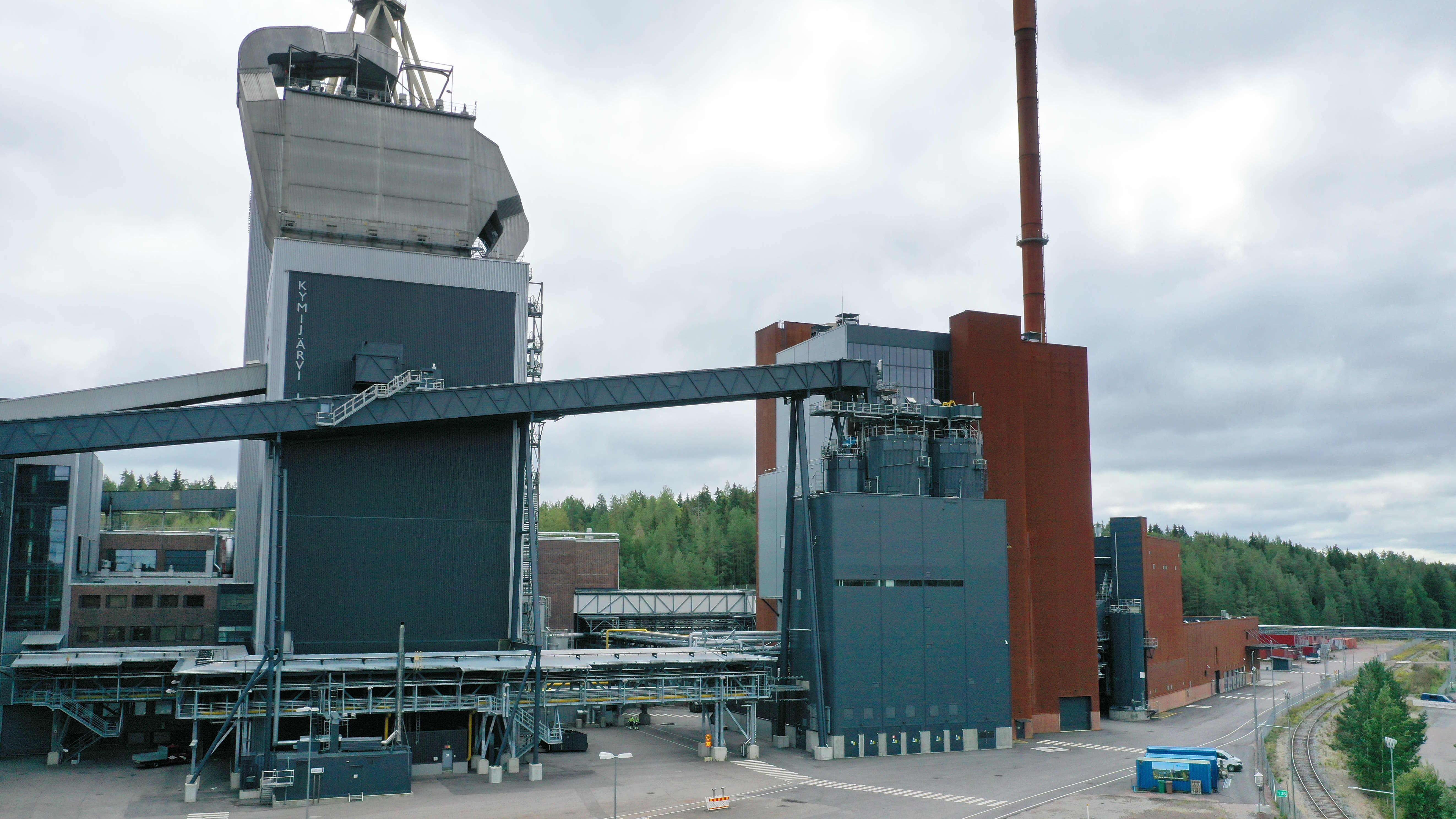 Lahti Energian Kymijärven voimalaitoksia