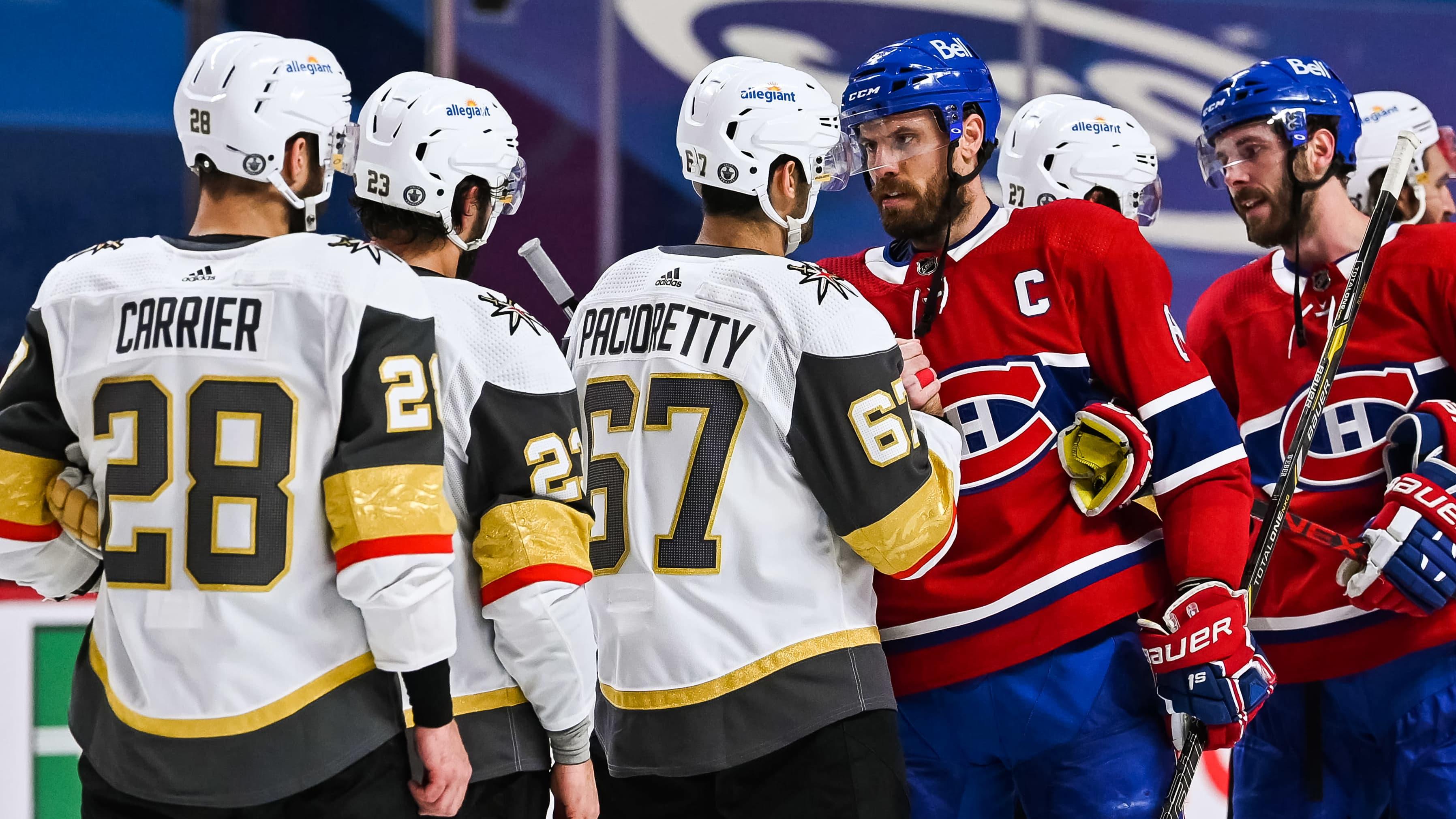 Montreal ja Vegas kohtasivat kesällä 2021 NHL:n välierissä.