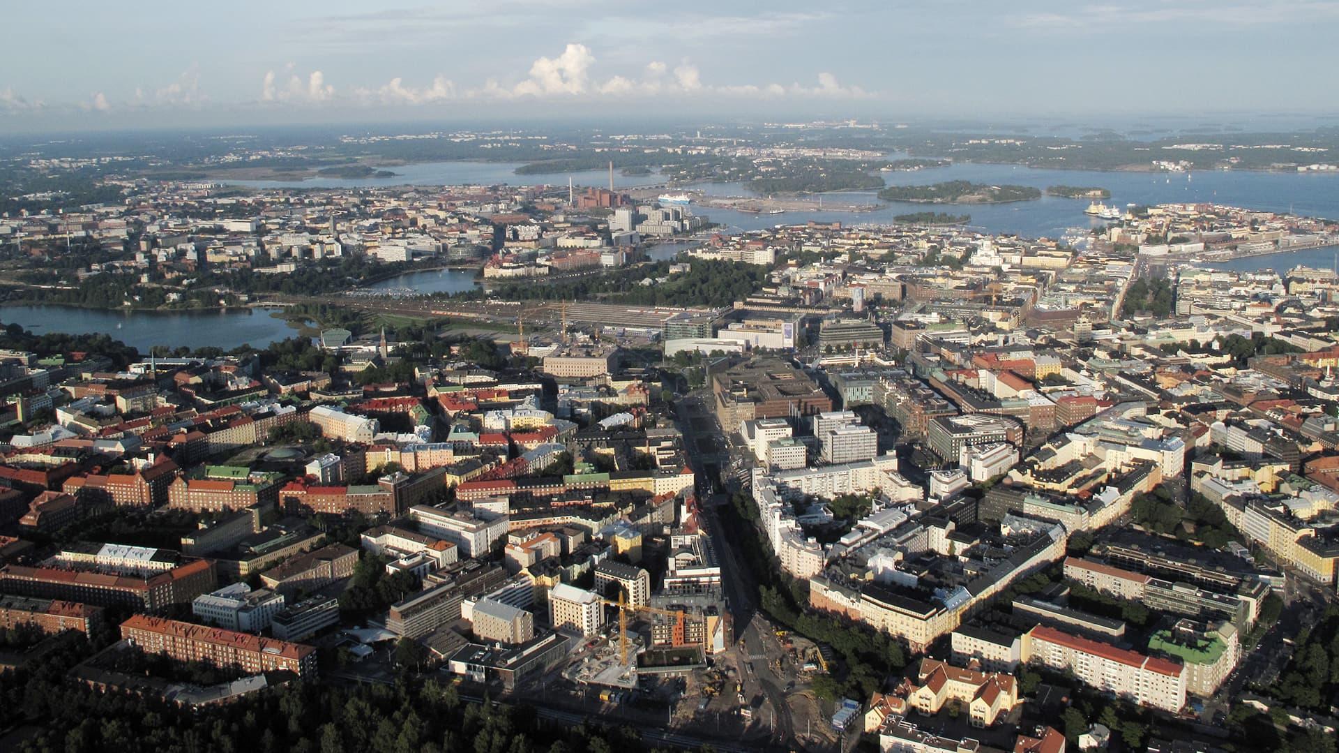 Ajelulla haamukaupungissa - Koronavirus on hiljentänyt Helsingin