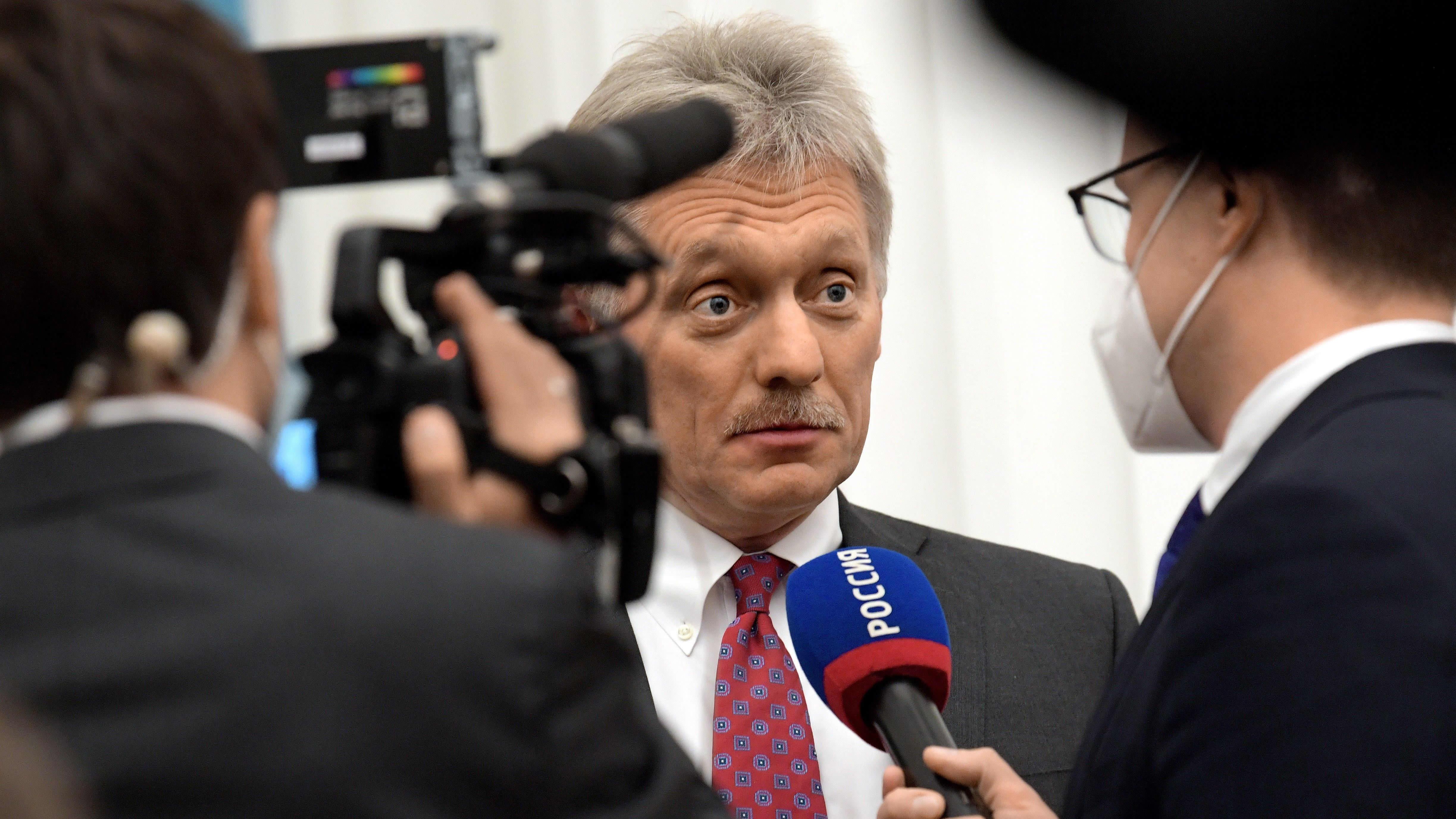 Dmitry Peskov.