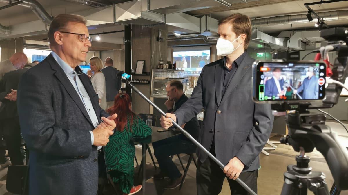 SDP:n Lauri Lyly on pettynyt pormestarikisan tulokseen Tampereella