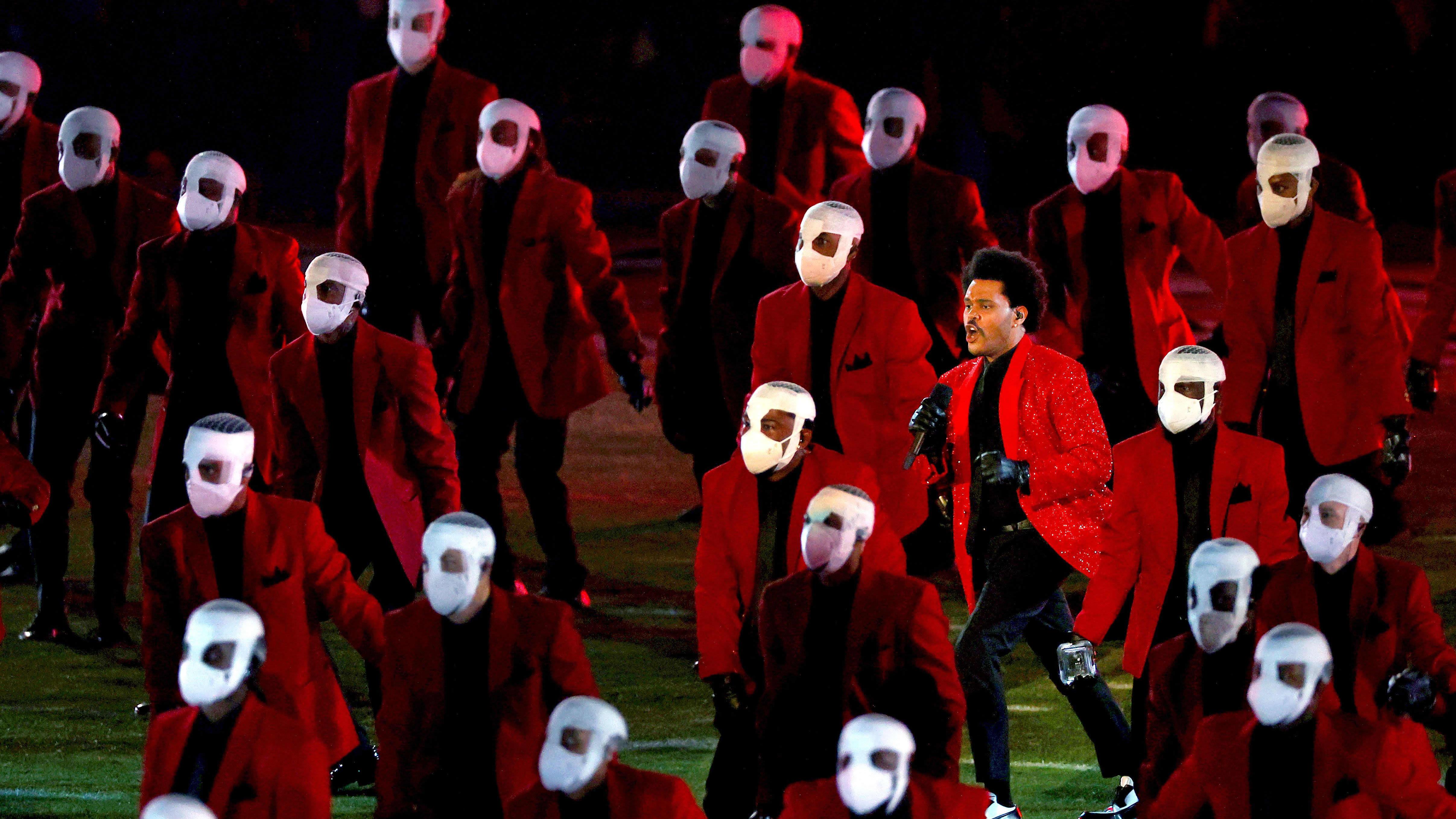 The Weeknd uppträder på Super Bowl.