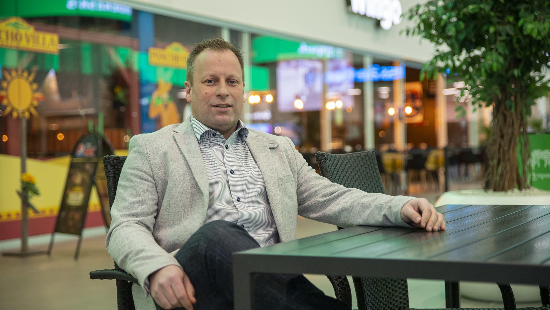Seinäjoen Ideaparkin toimitusjohtaja Petri Häli