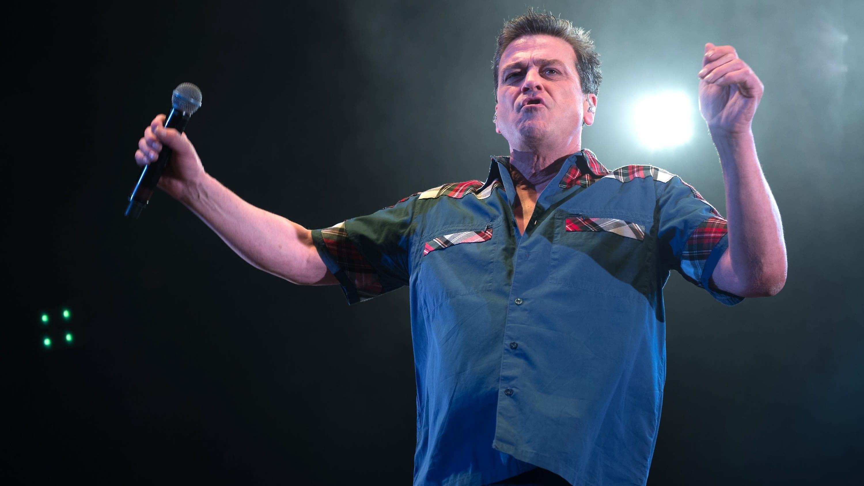 Bay City Rollersin laulaja Les McKeown Glasgow'ssa joulukuussa 2016.
