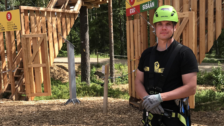 Pirkanmaan suurin seikkailupuisto avattiin tänään Sappeelle