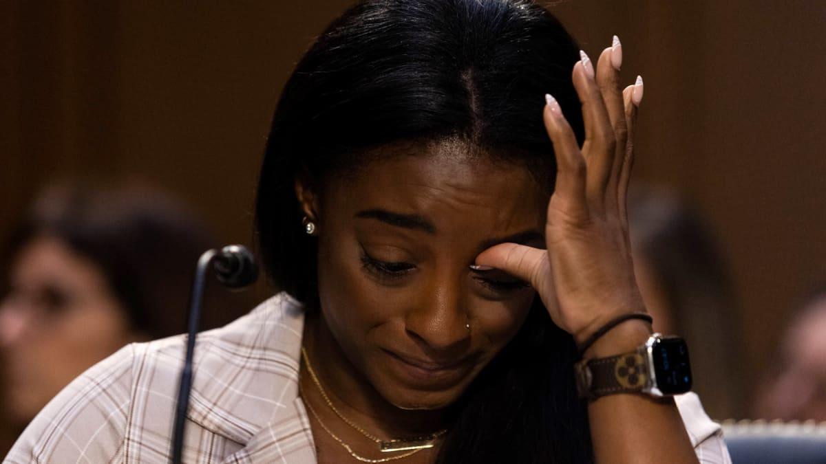 Simone Biles puhui hyväksikäytöstä Yhdysvaltain senaatissa