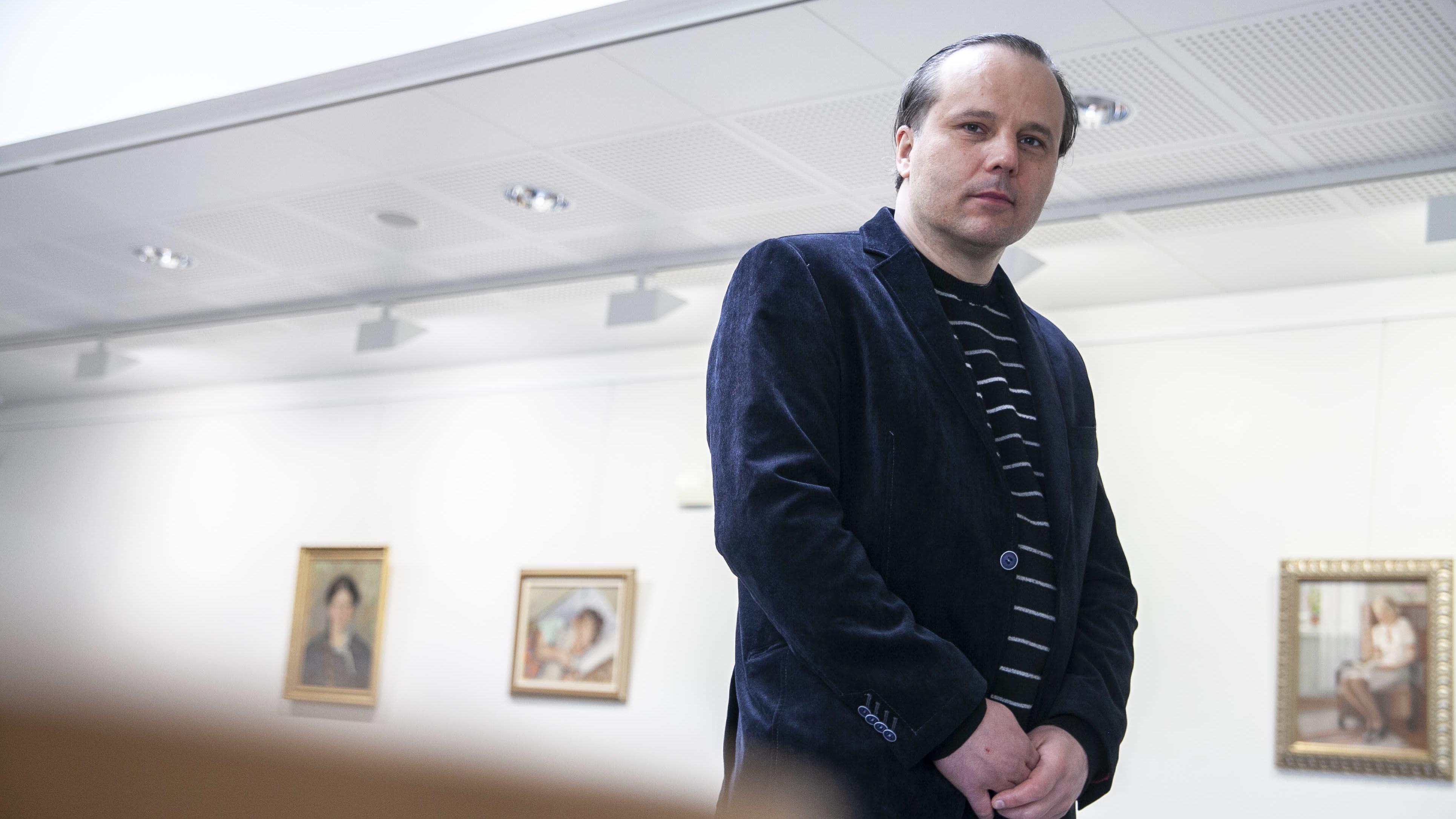 Marko Huuskonen paikallisyhdistyksen pj.