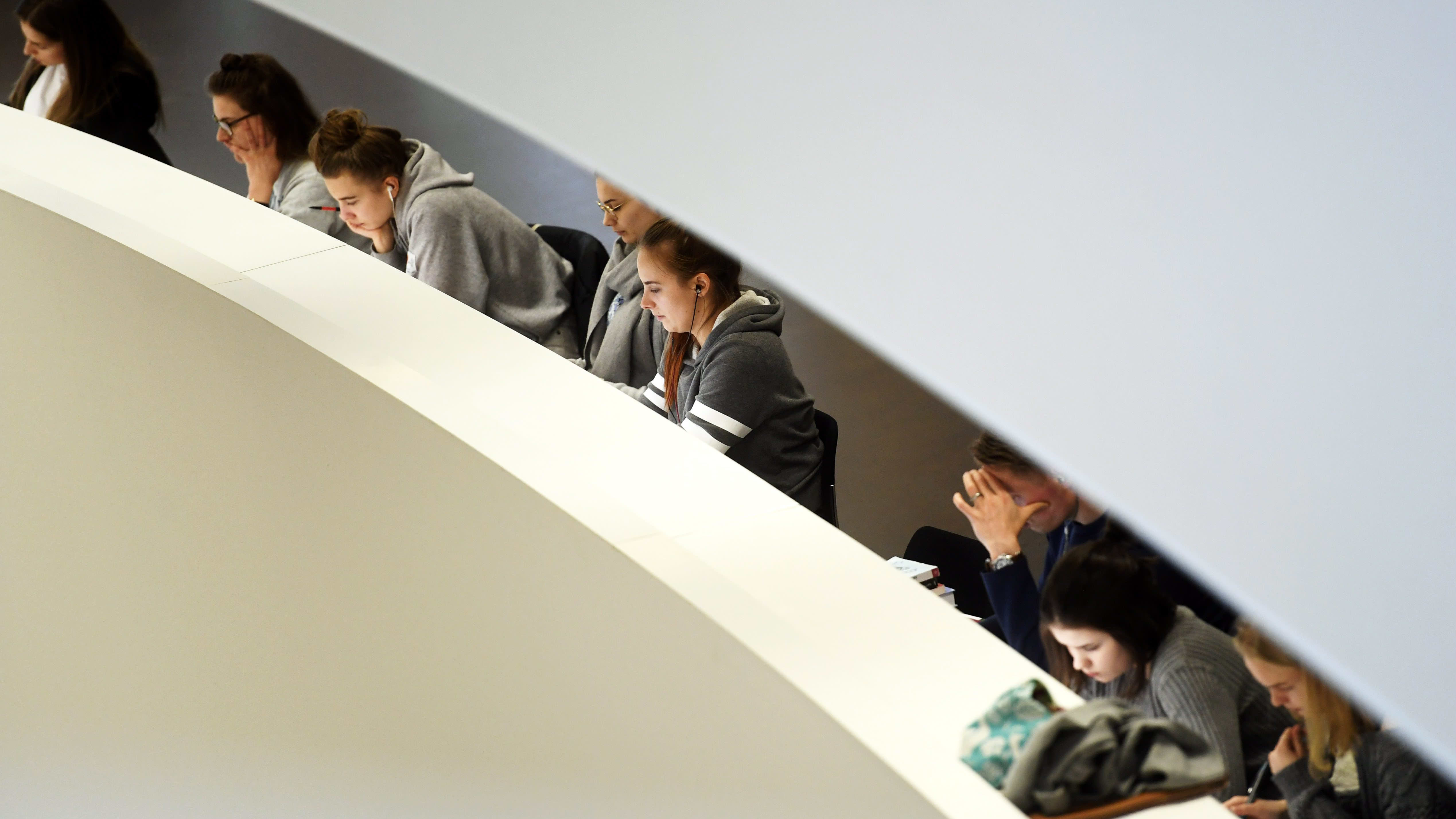 Studerande vid Helsingfors universitet
