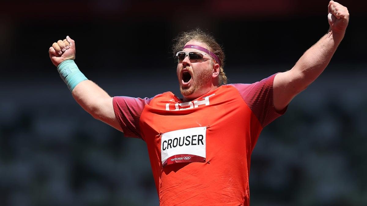 Ryan Crouser jäi seitsemän senttiä ME:stä