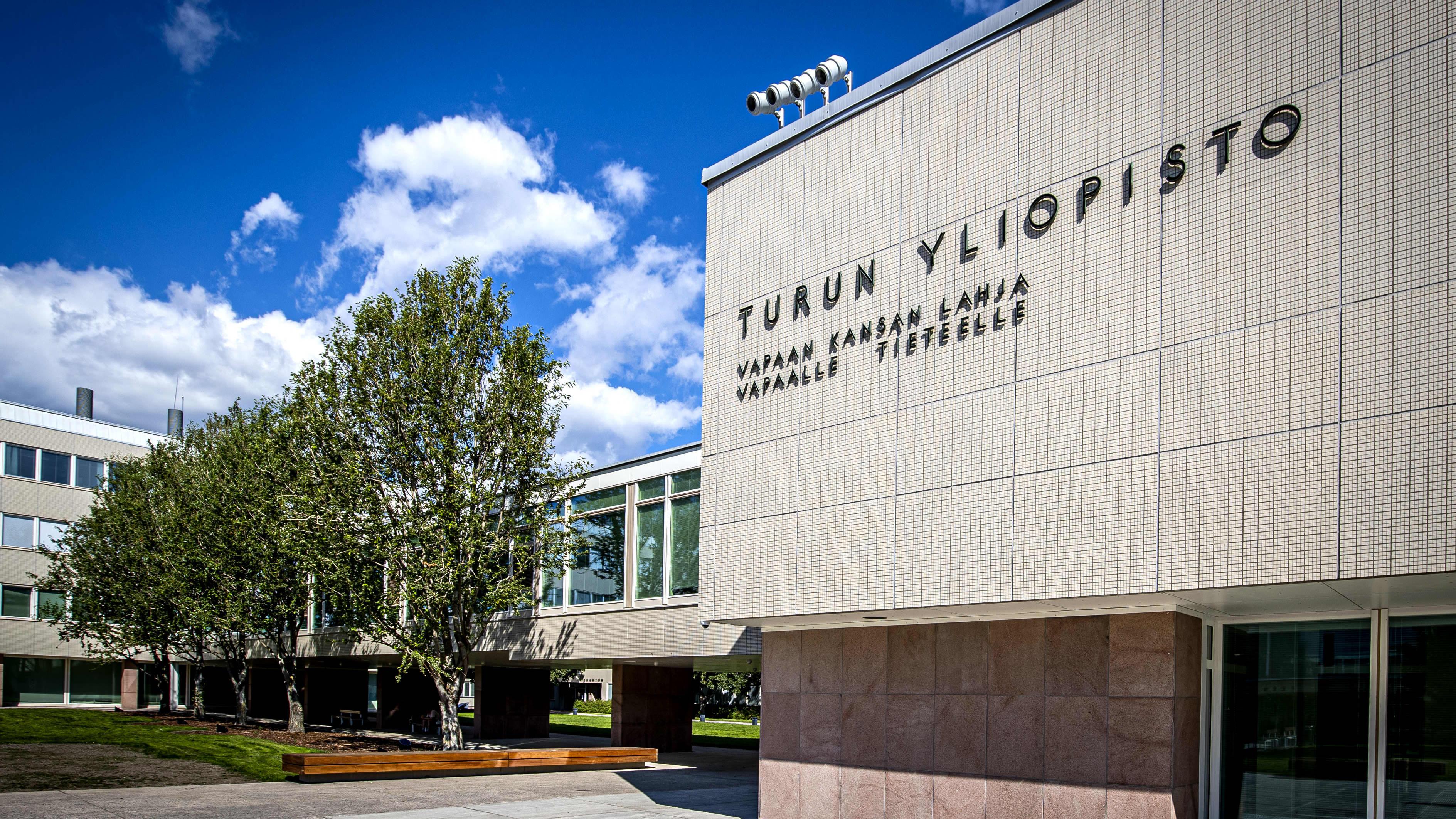 Turun yliopiston rakennus
