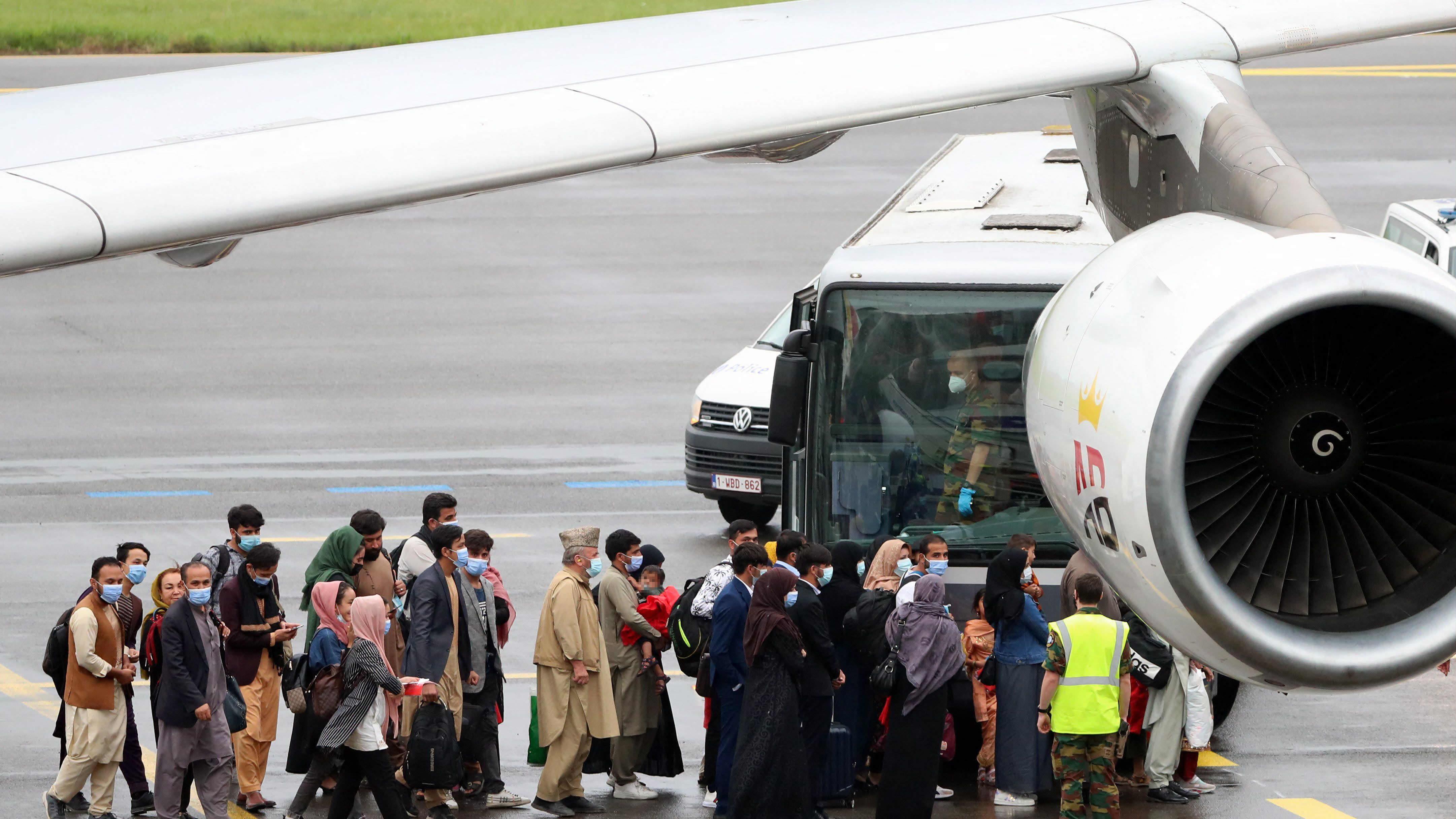 Air Belgium hjälper till med evakueringen av afghaner 23.8.2021