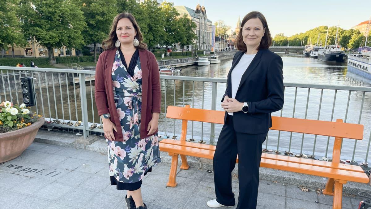 Elina Rantanen ja Minna Arve