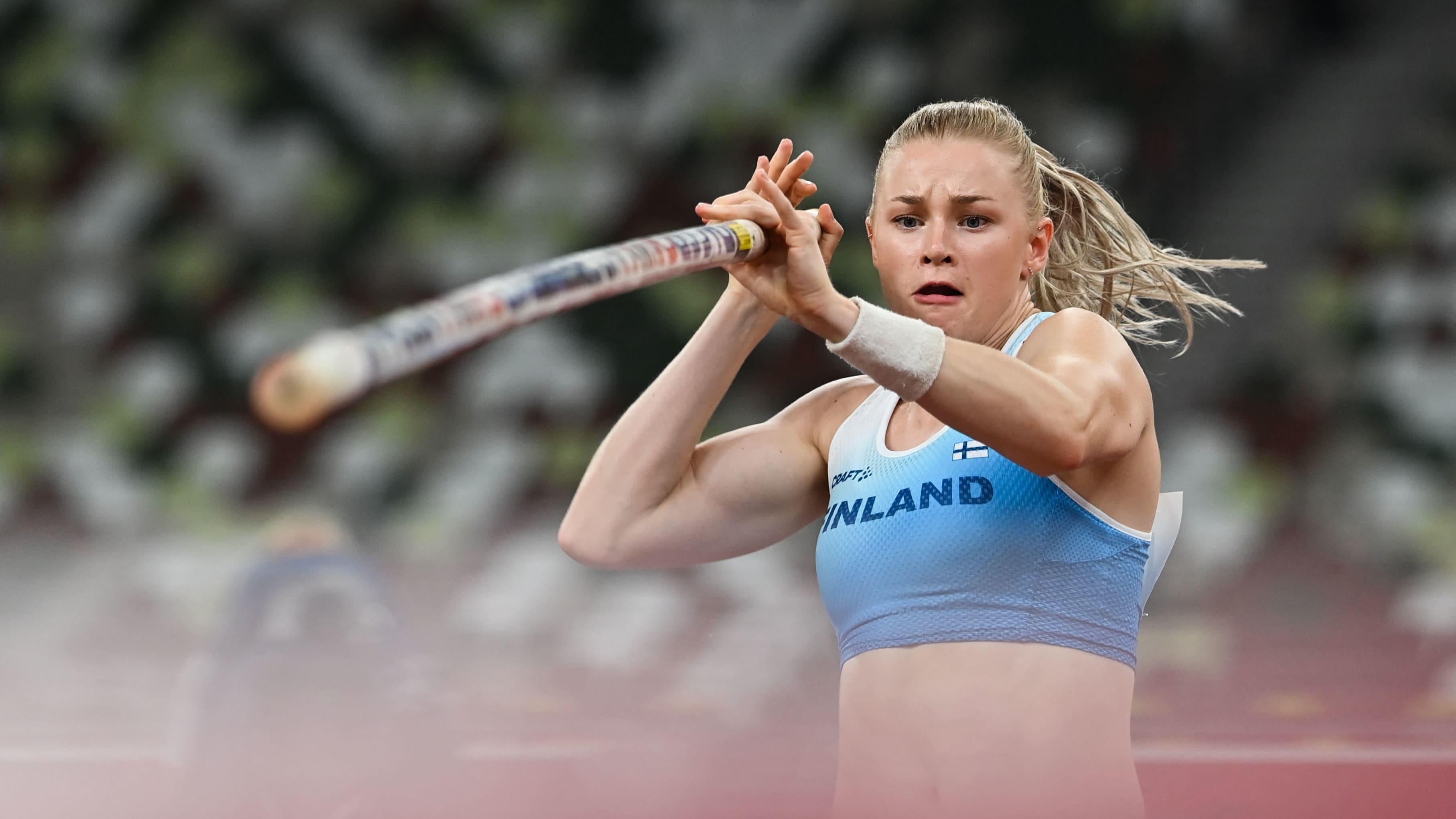 Wilma Murto hyppäsi tuloksella 455 naisten seiväsfinaaliin – katso kaikki suomalaisen suoritukset