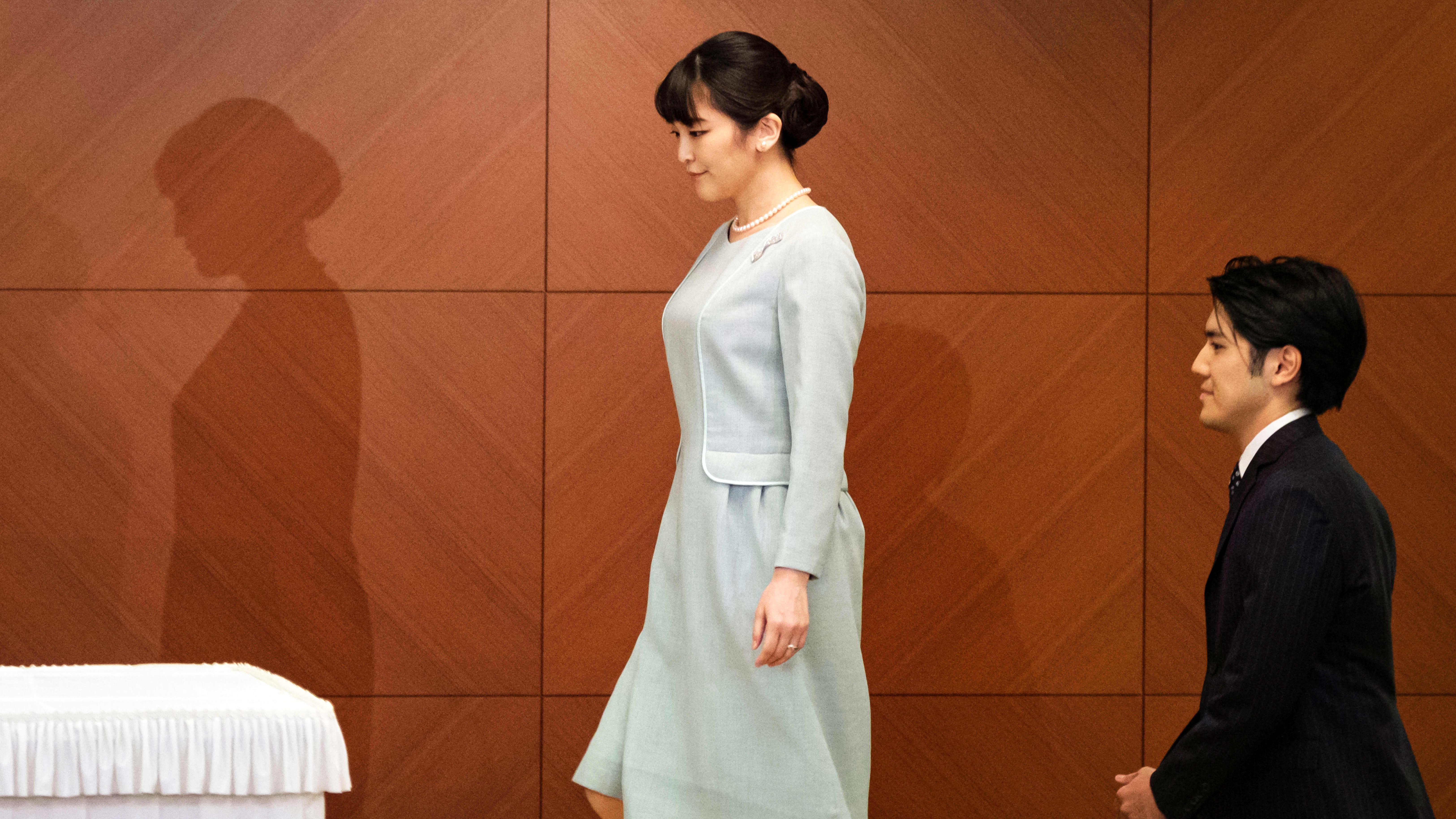 Prinsessa Mako ja Kei Komuro