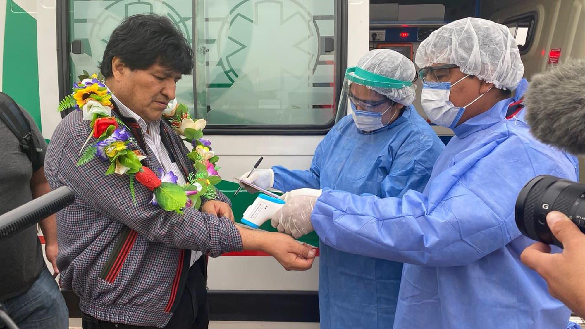 Morales terveystarkastuksessa ennen paluutaan kotiin