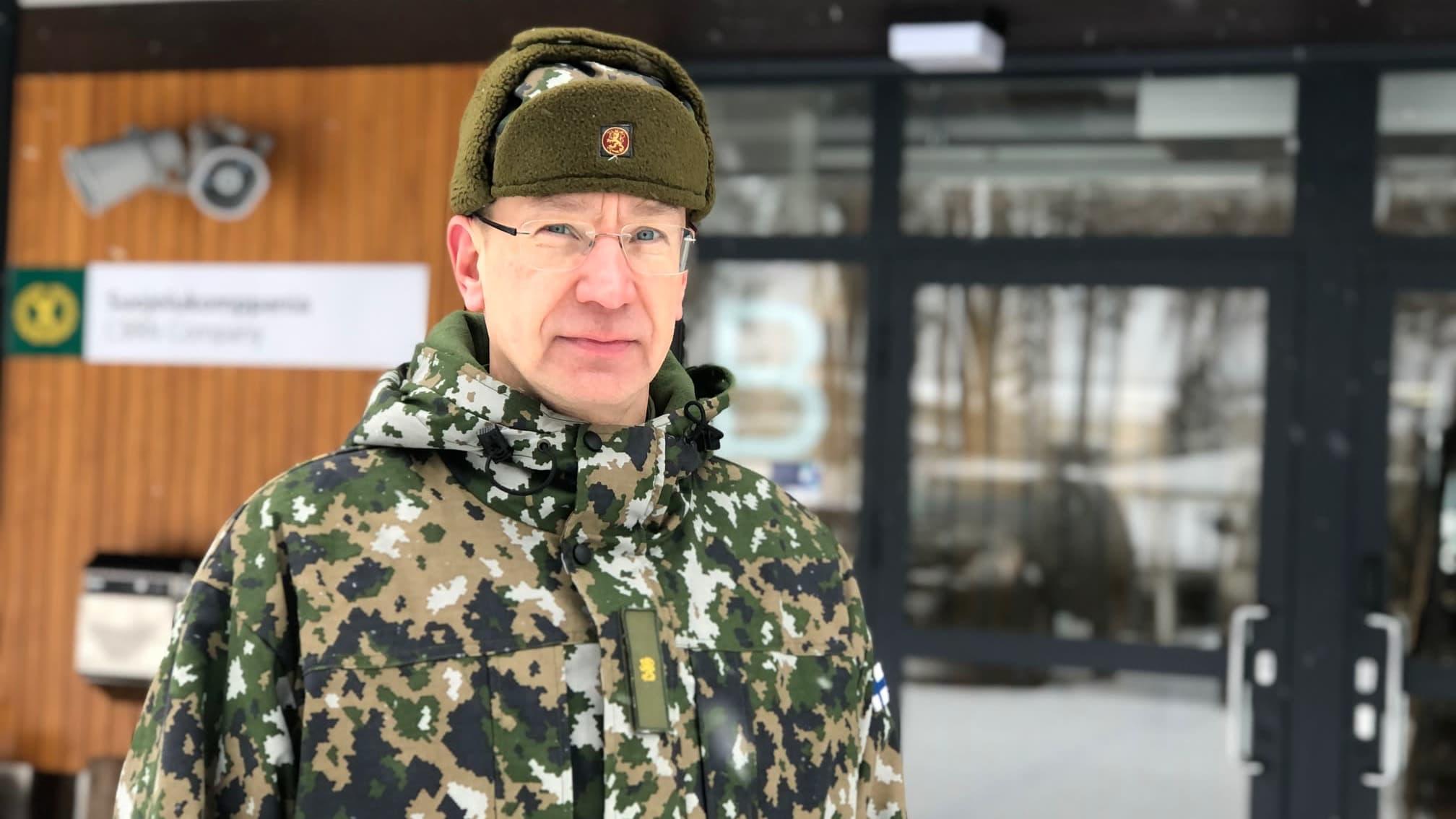Porin prikaatin komentaja Mika Kalliomaa