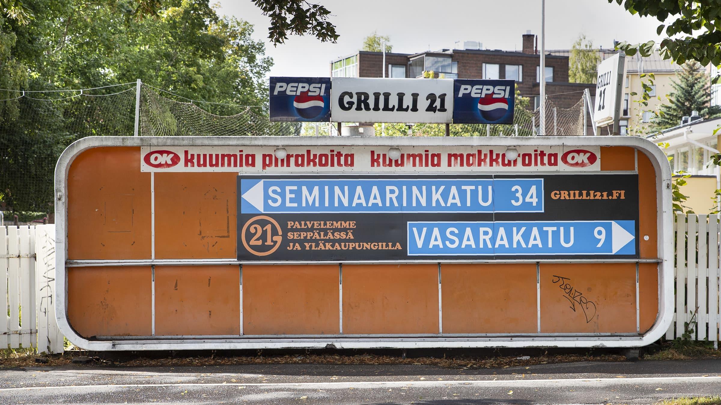 Jyväskylän ikonisin grillirakennus matkaa Lahteen