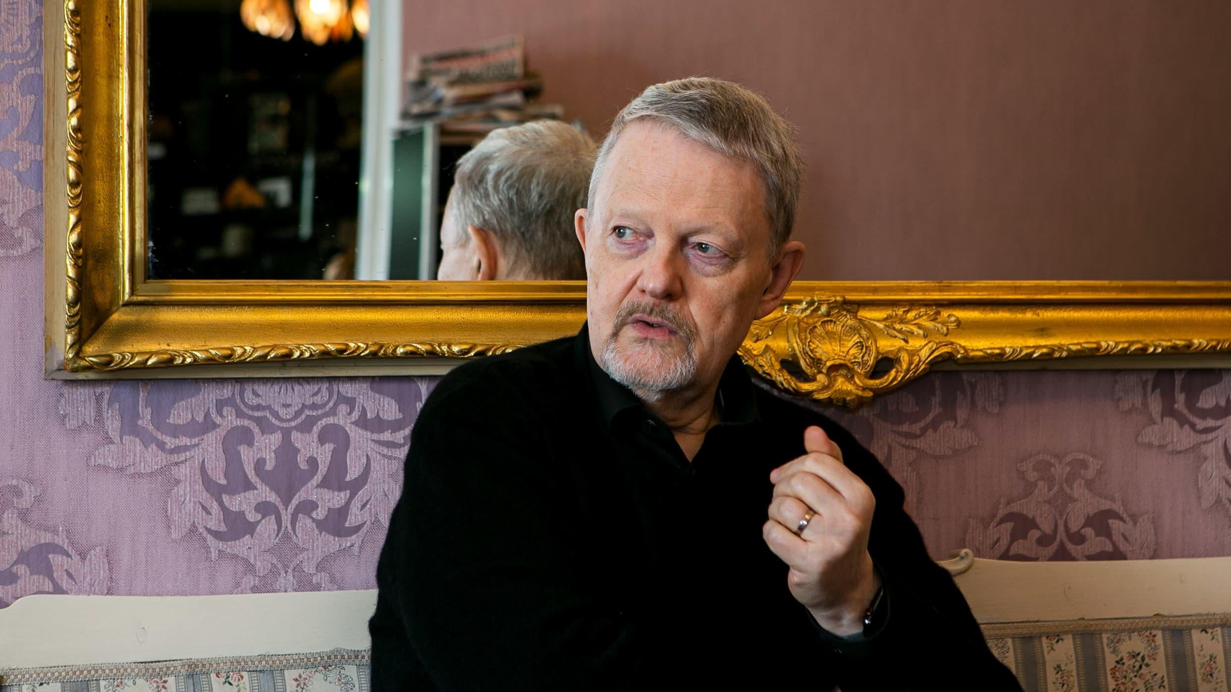 Pianoprofessori Matti Raekallio.