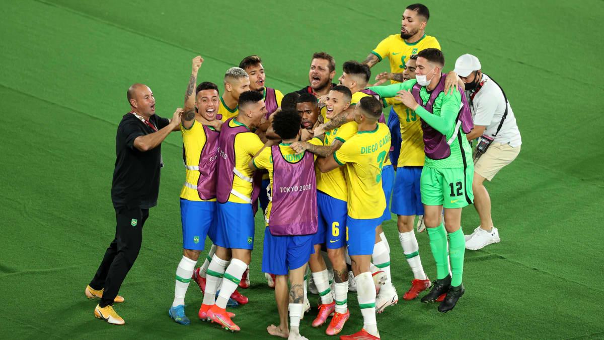Brasilialle jalkapallon olympiakultaa – Espanja kaatuu jatkoajalla