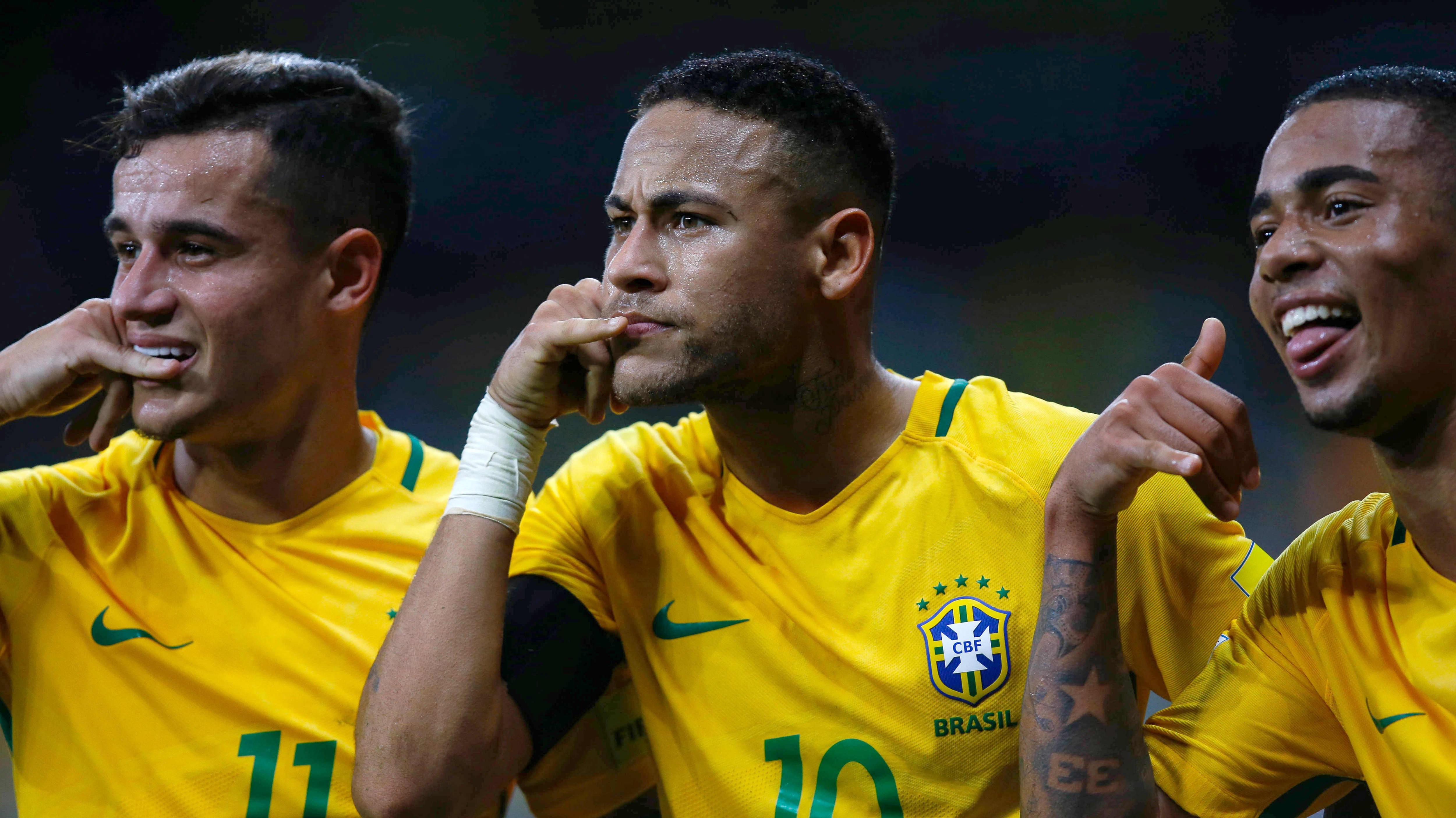 Neymar är en fotbollsstjärna i Brasilien.