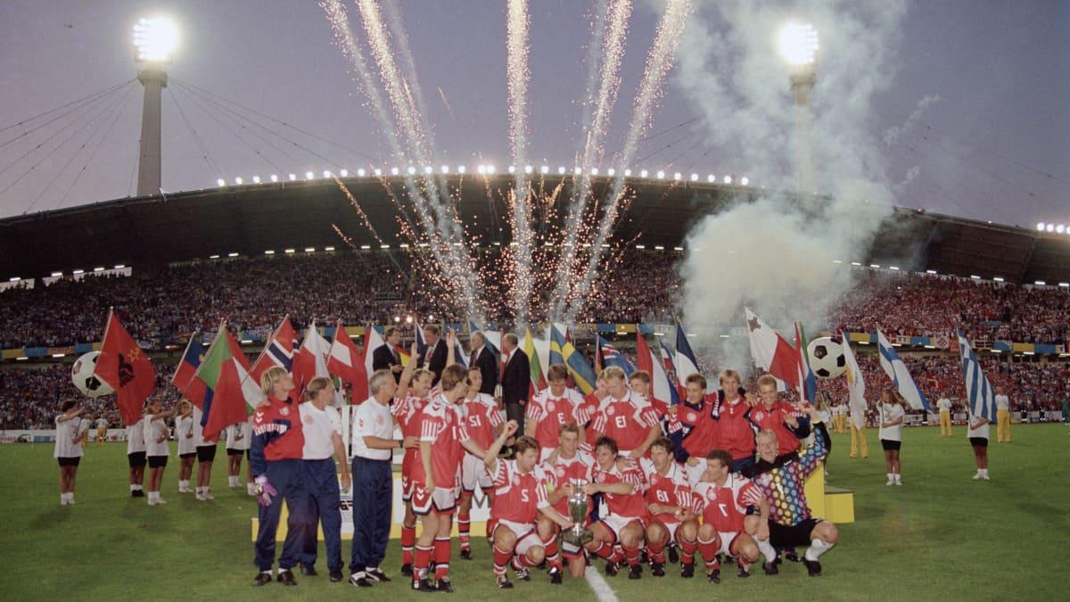 Tanska juhlii jalkapallon Euroopan mestaruutta 2020