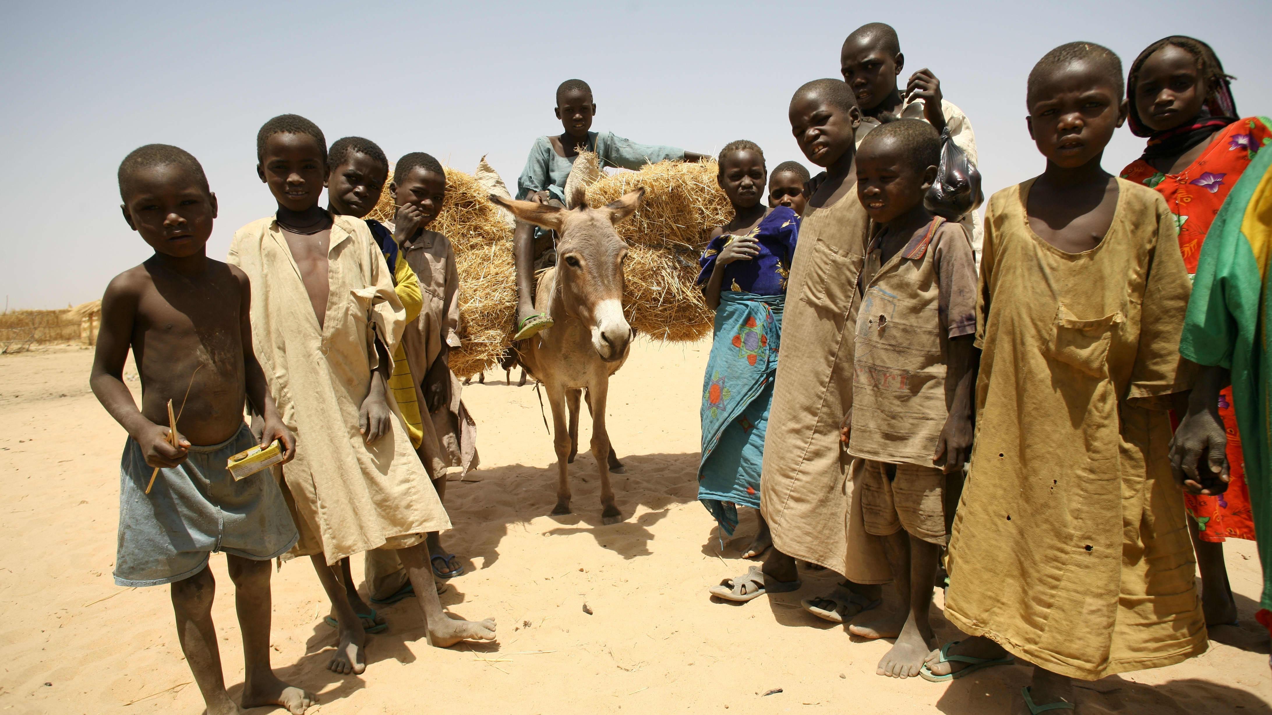 Lapsia Tsadissa.