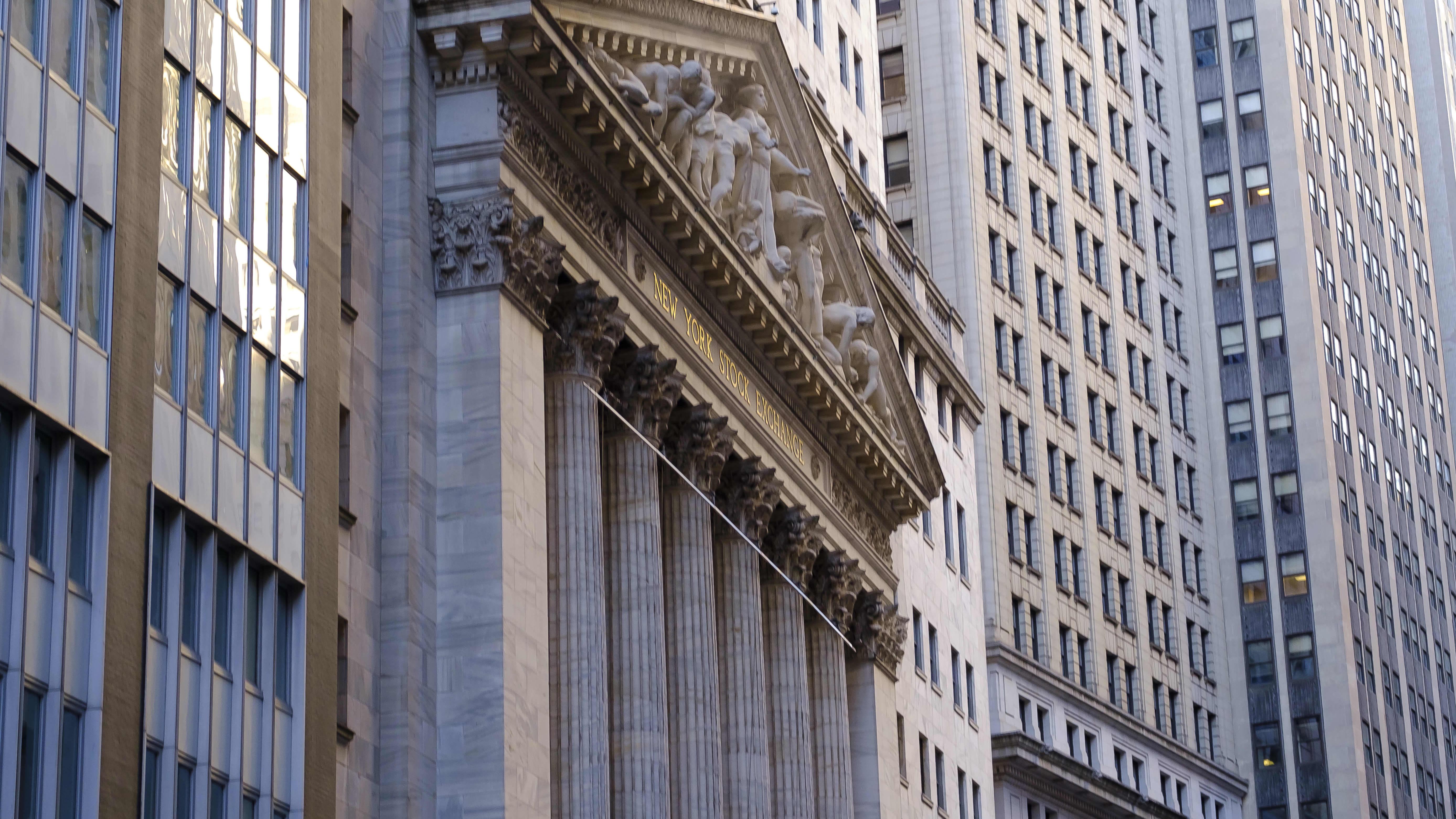 New Yorkin pörssi tammikuussa.