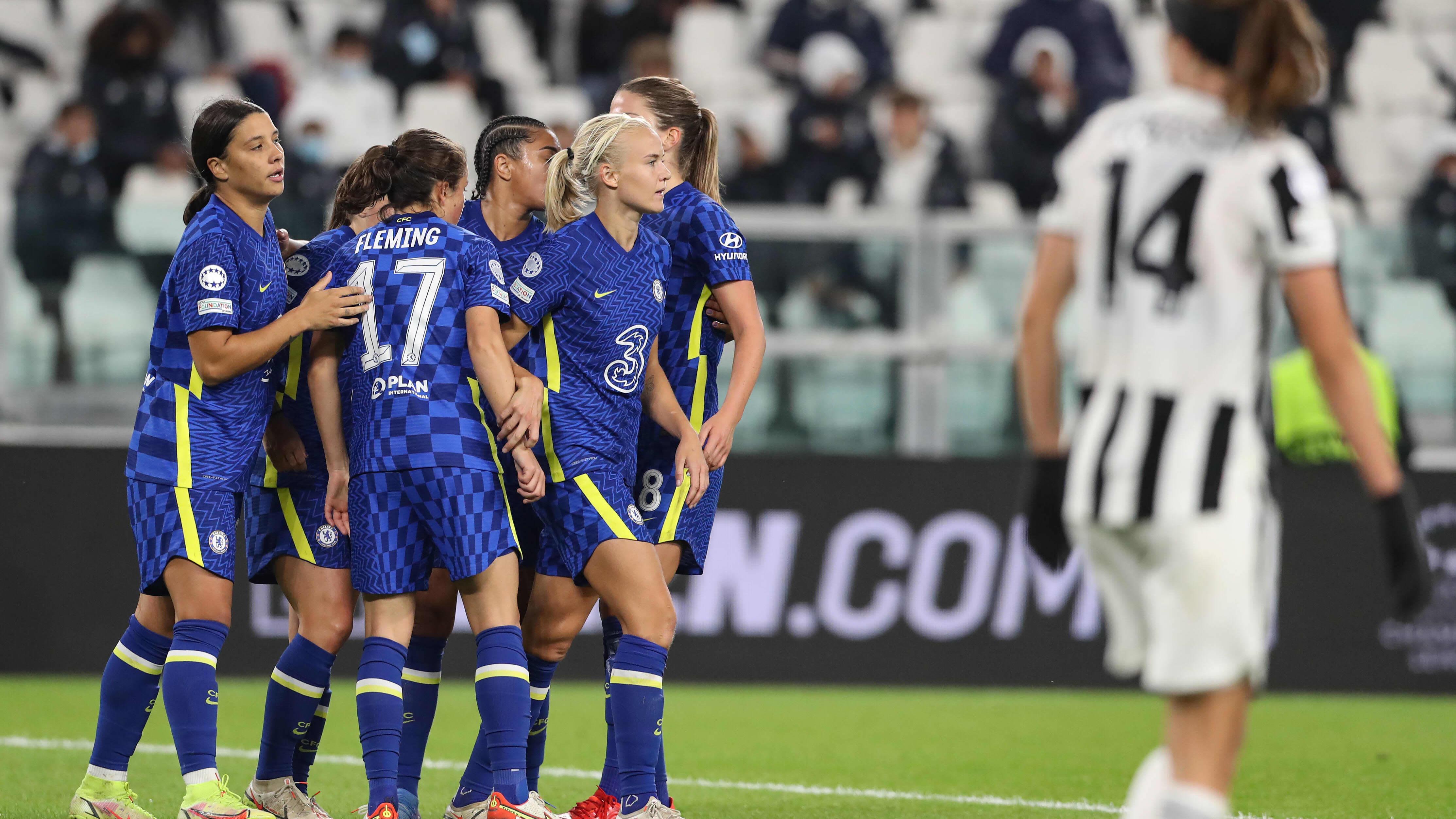 Chelsea juhli maalia Torinossa.