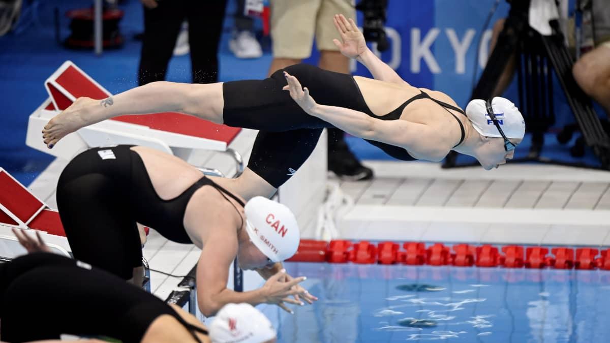 Ida Hulkko aloitti vahvasti, mutta olympiafinaali jäi haaveeksi