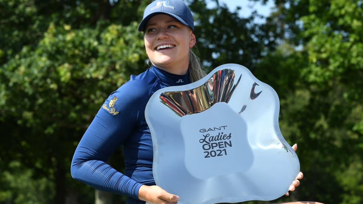 Matilda Castren voitti Turussa lauantaina kolmen lyönnin marginaalilla