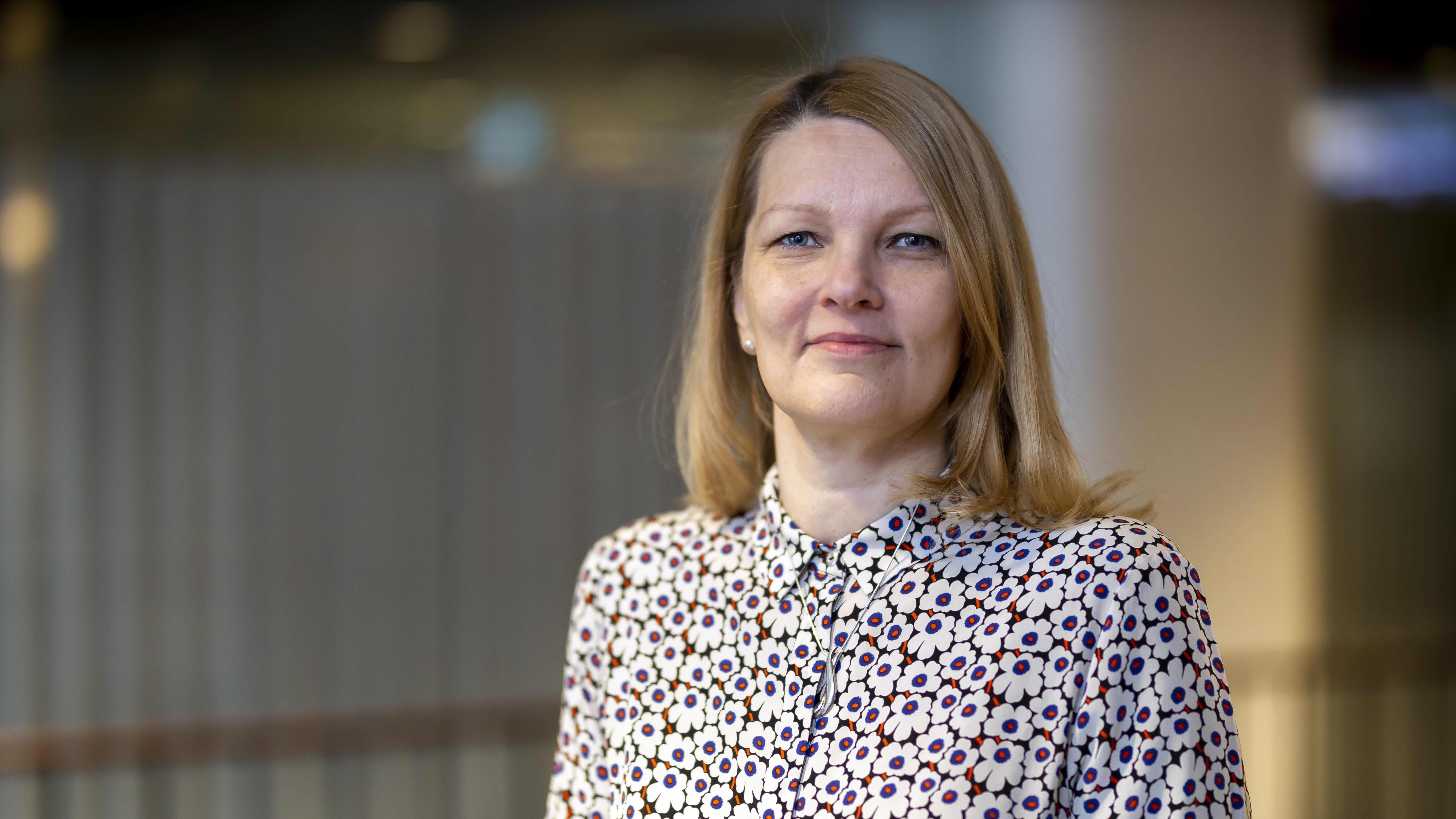 Kaupanliiton toimitusjohtaja (2019-) Mari Kiviniemi.