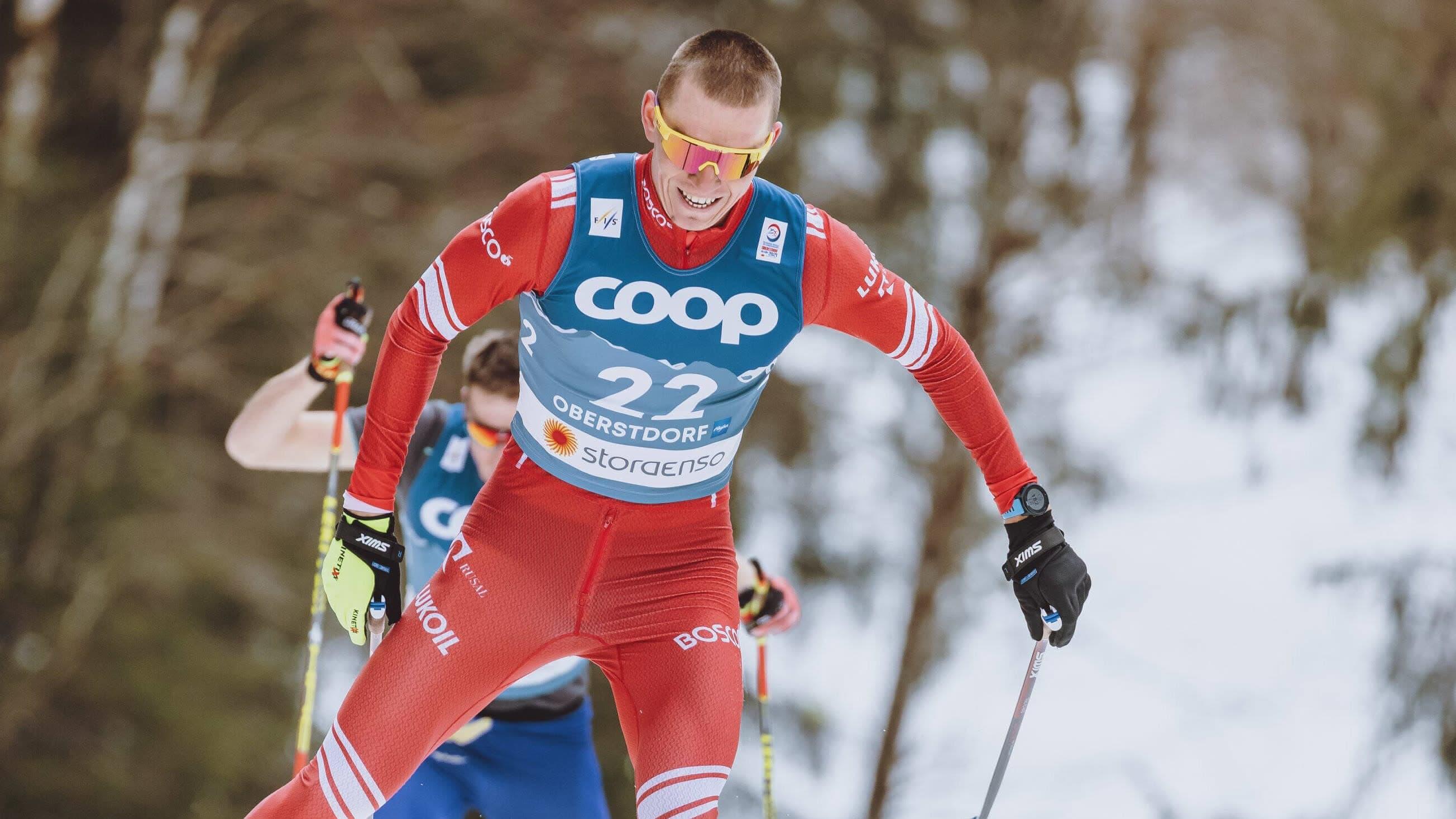 Aleksandr Bolshunov on Venäjän hiihtomaajoukkueen ylivoimainen ykköstähti.