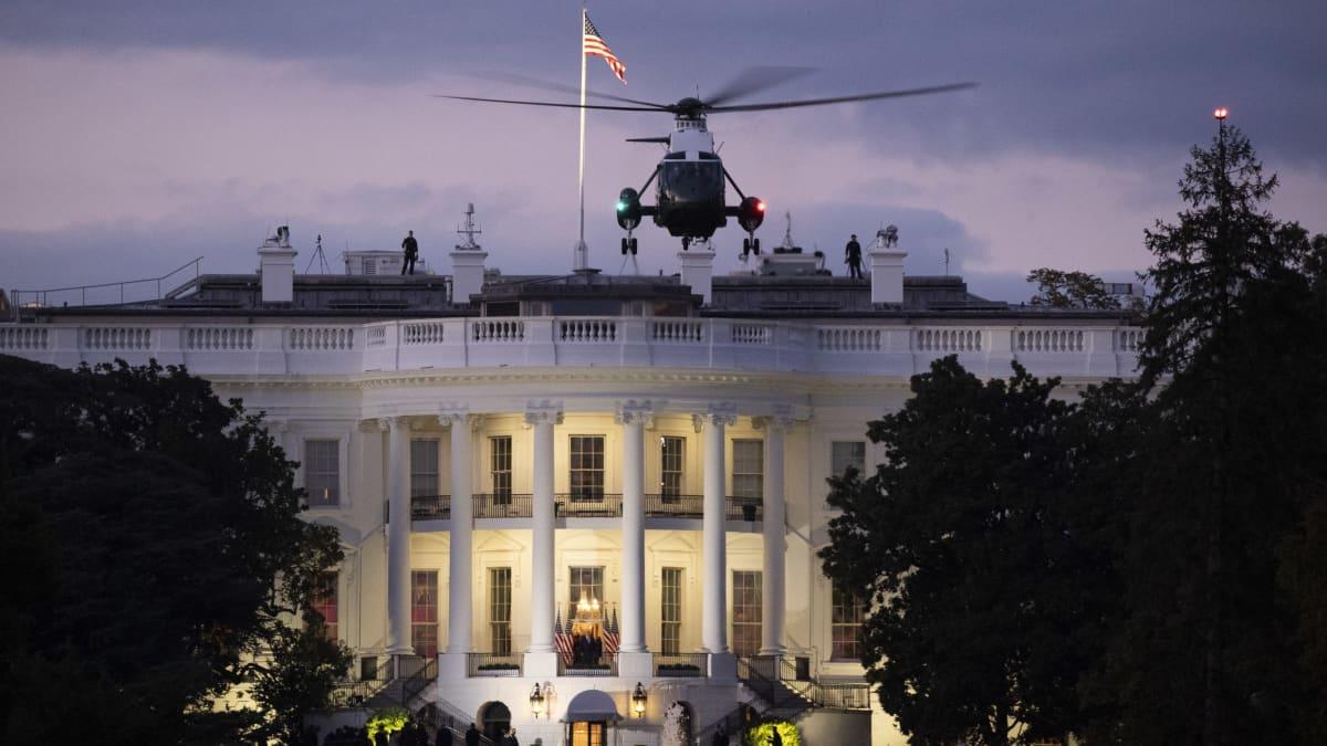 Trump siirtyi sairaalasta Valkoiseen taloon