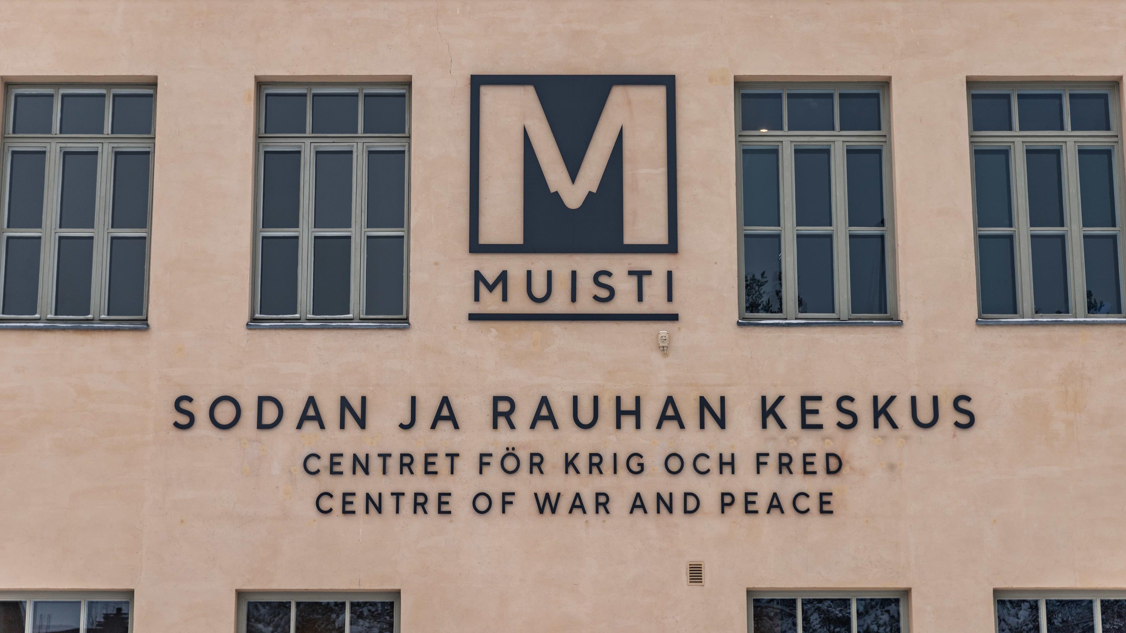 Sodan ja rauhan keskus Muisti.