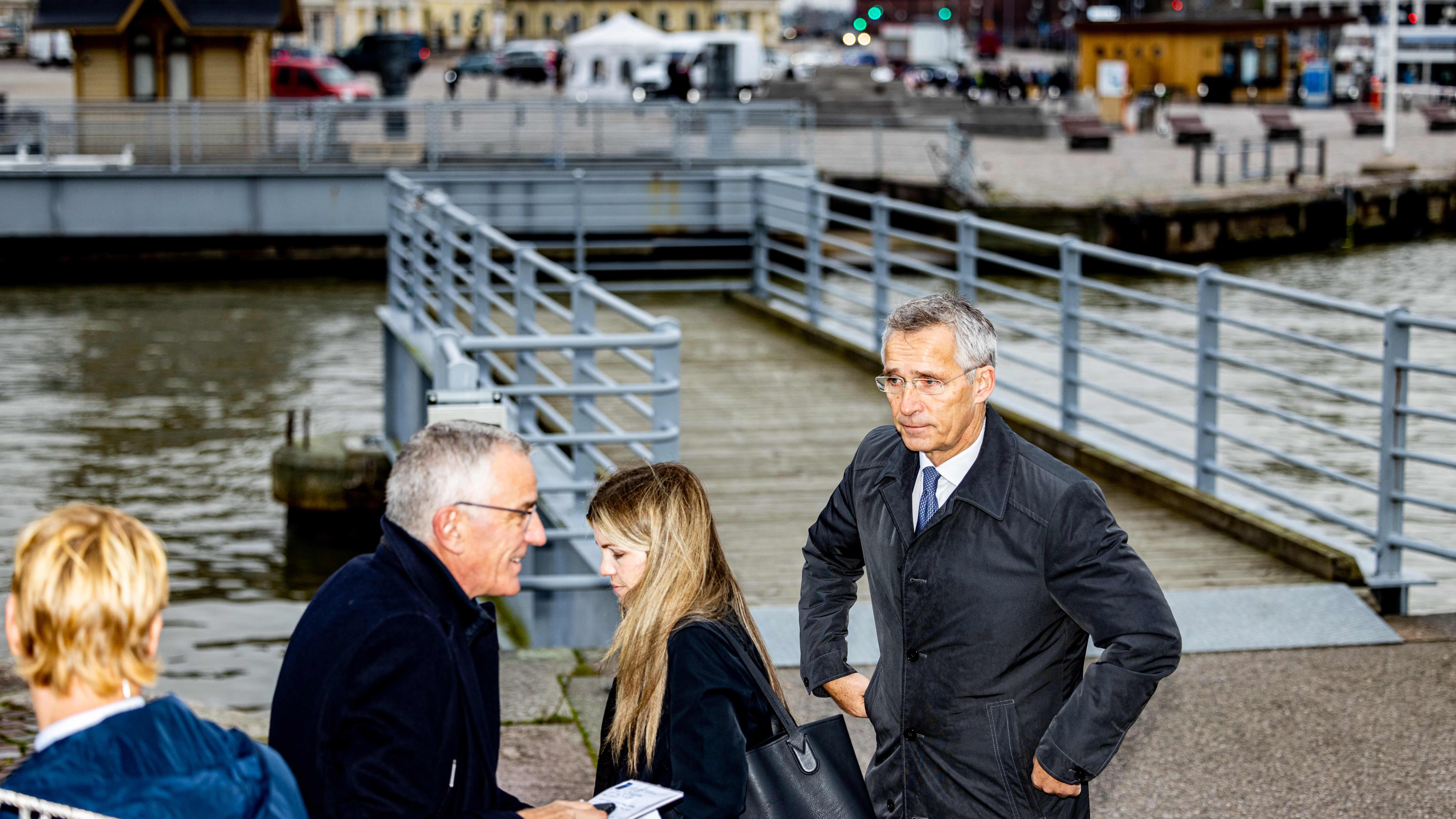 Naton pääsihteeri Jens Stoltenberg Ylen haastattelussa: Jännitteet tässä osassa Eurooppaa kasvavat