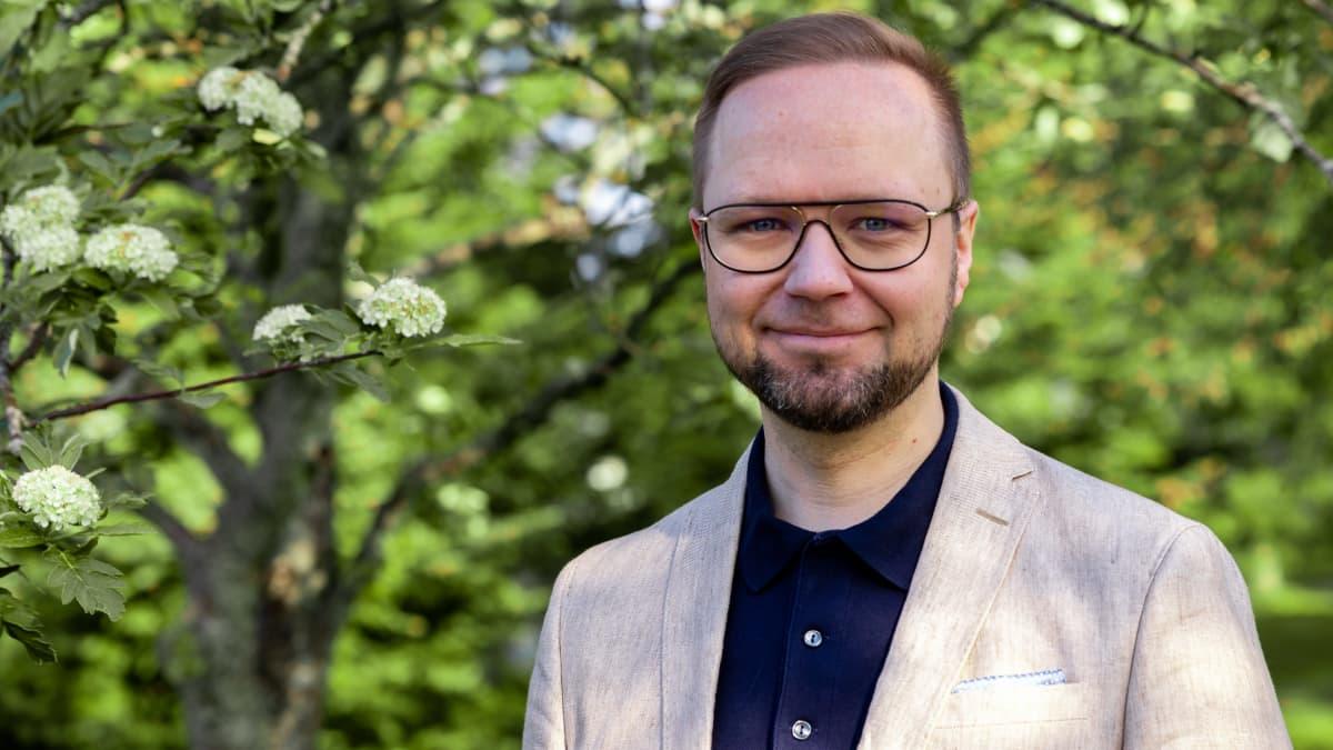 Hämeenlinnan uusi kaupunginjohtaja Olli-Poika Parviainen