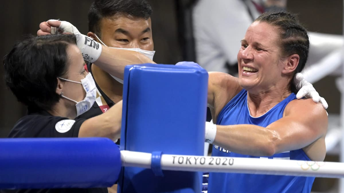 Mira Potkonen kirjoittaa olympiahistoriaa! Nyrkkeilijä tuo Suomelle toisen olympiamitalin!