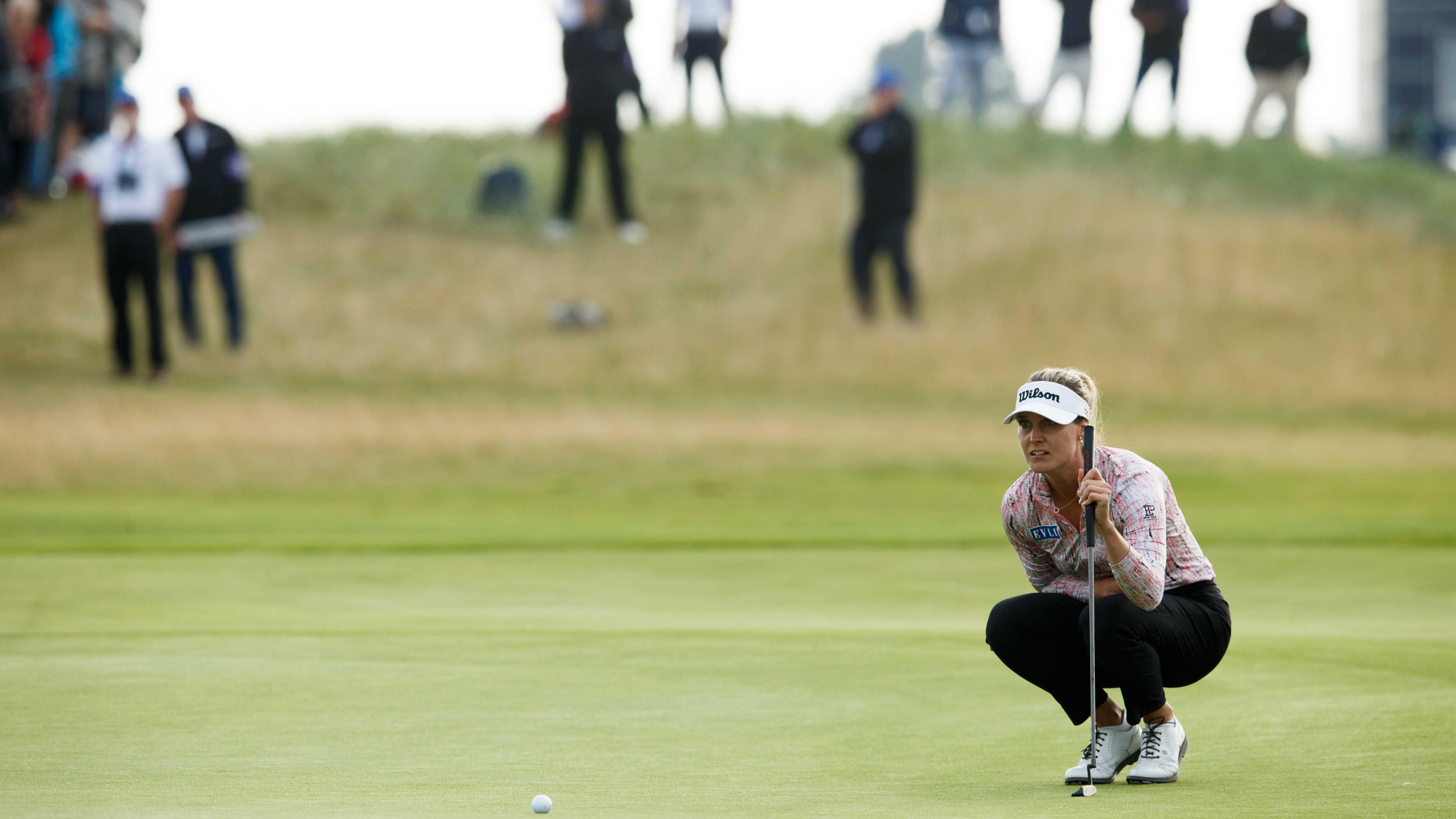 Golffari Sanna Nuutinen.