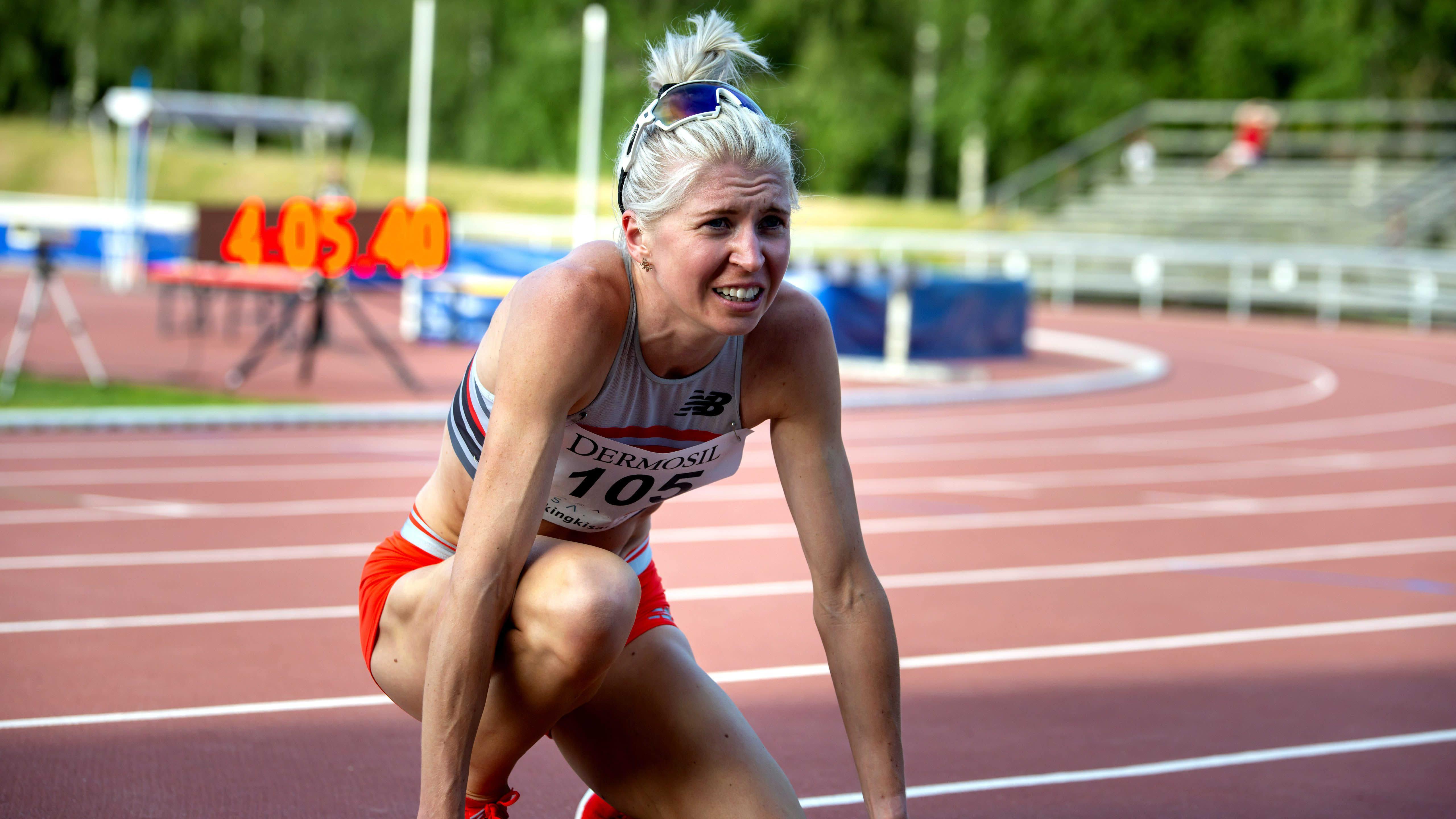 Sara Kuivisto rikkoi Vaasassa 1500 metrin SE:n