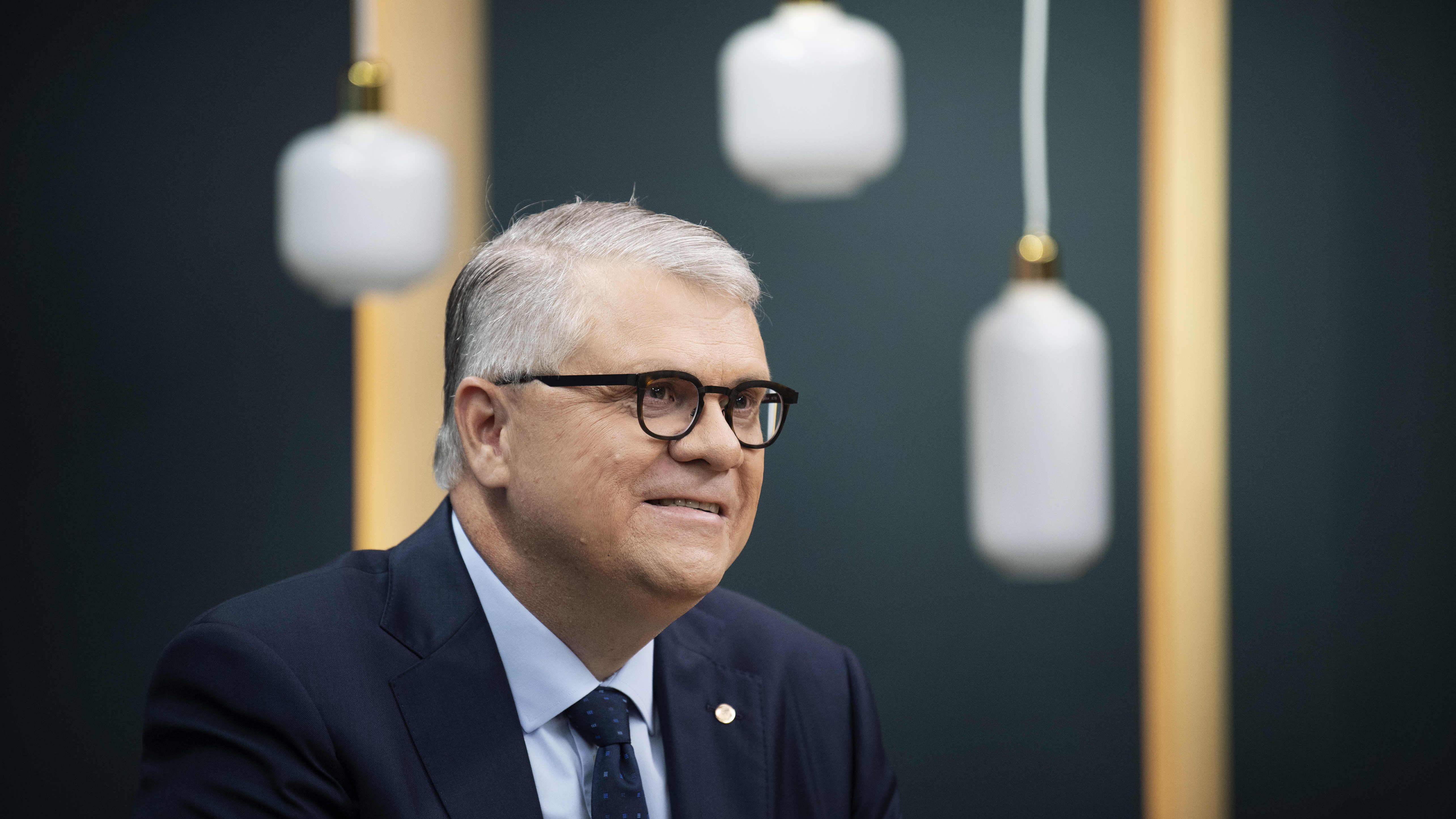 UPM:n toimitusjohtaja Jussi Pesonen Ykkösaamun vieraana 5.9.2020.