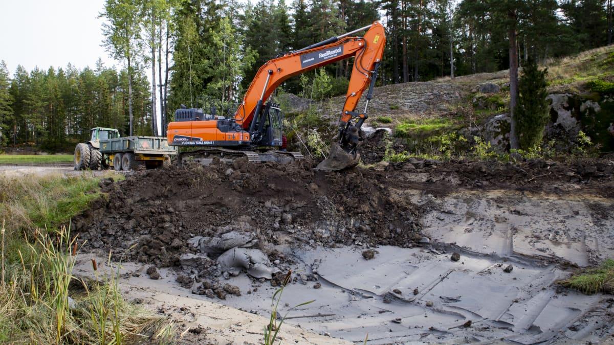 Kosteikkoja rakentamalla kunnostetaan vesistöjä tehokkaasti