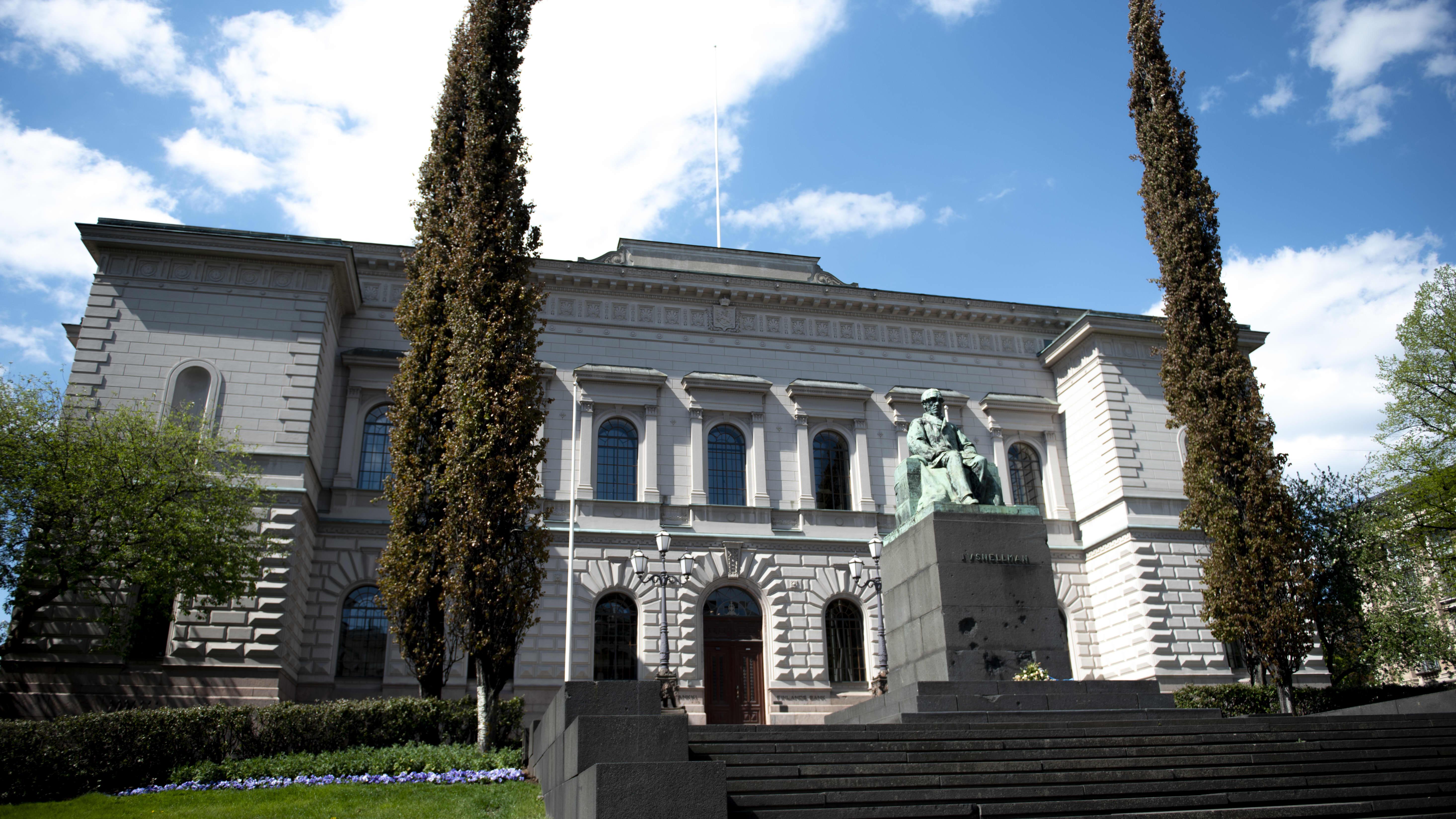 Suomen Pankin tiedotustilaisuus Suomen talouden näkymistä