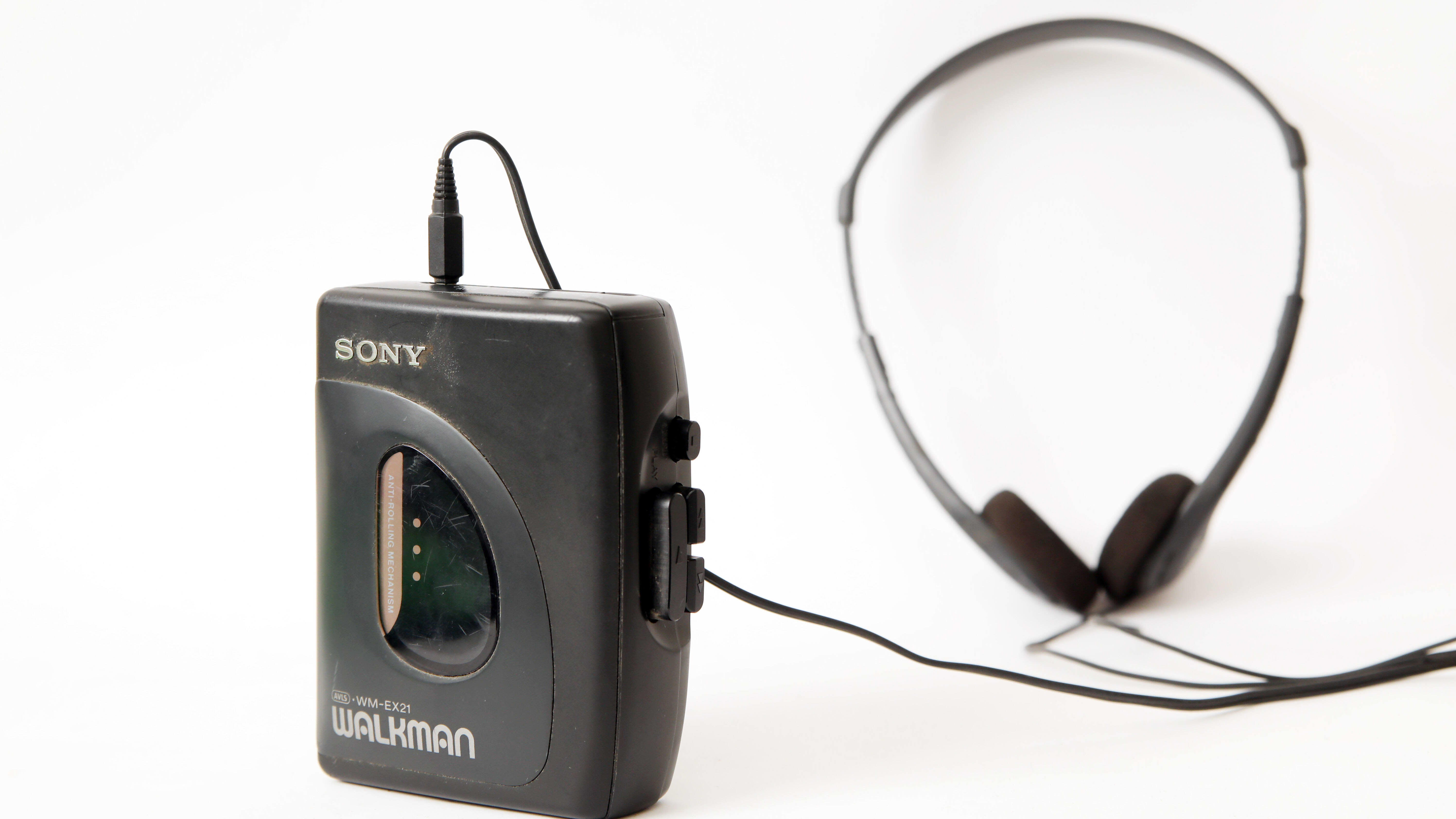 Walkman-korvalappustereot.