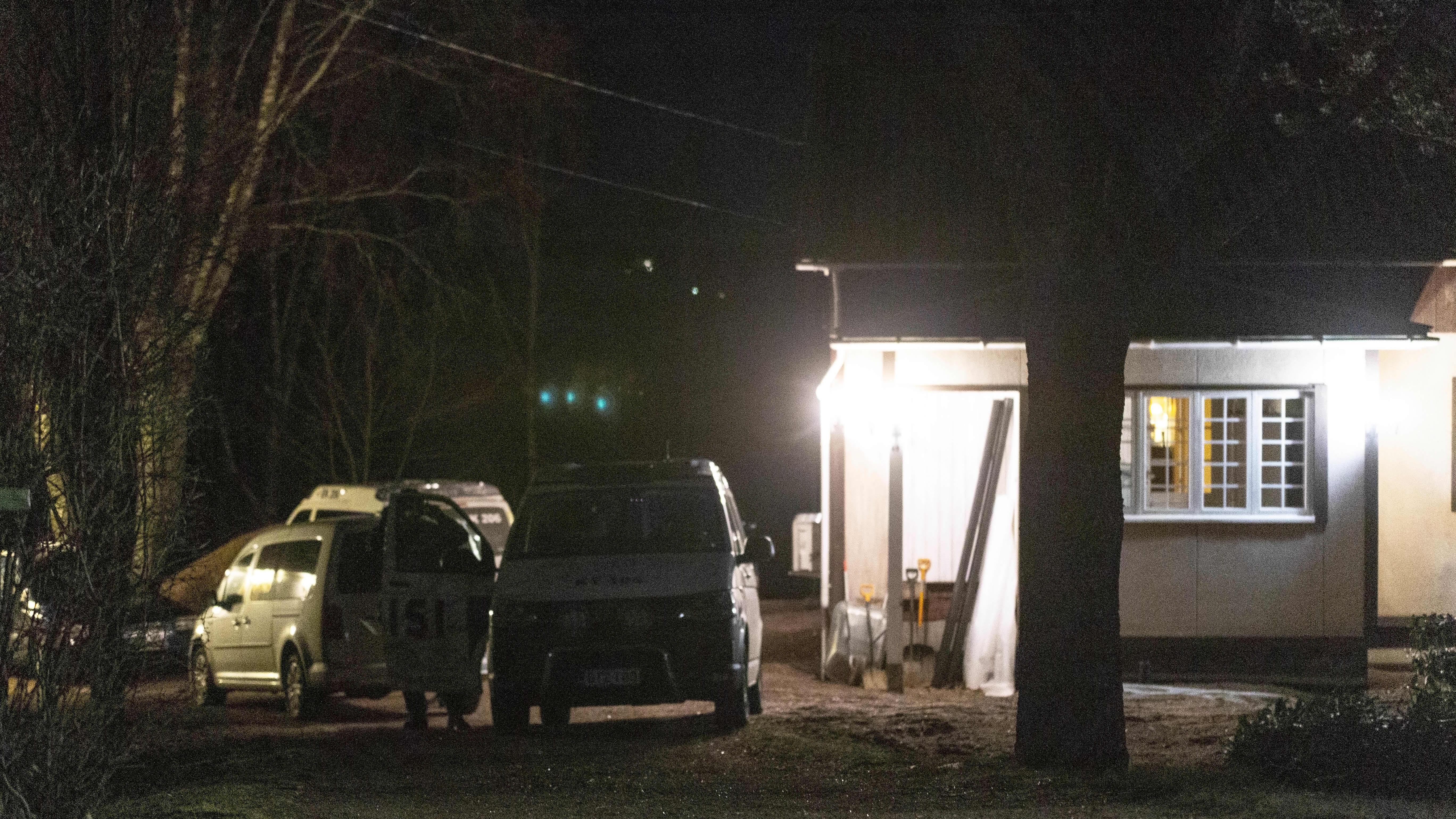 Poliisi piiritti taloa Kymenlaaksossa