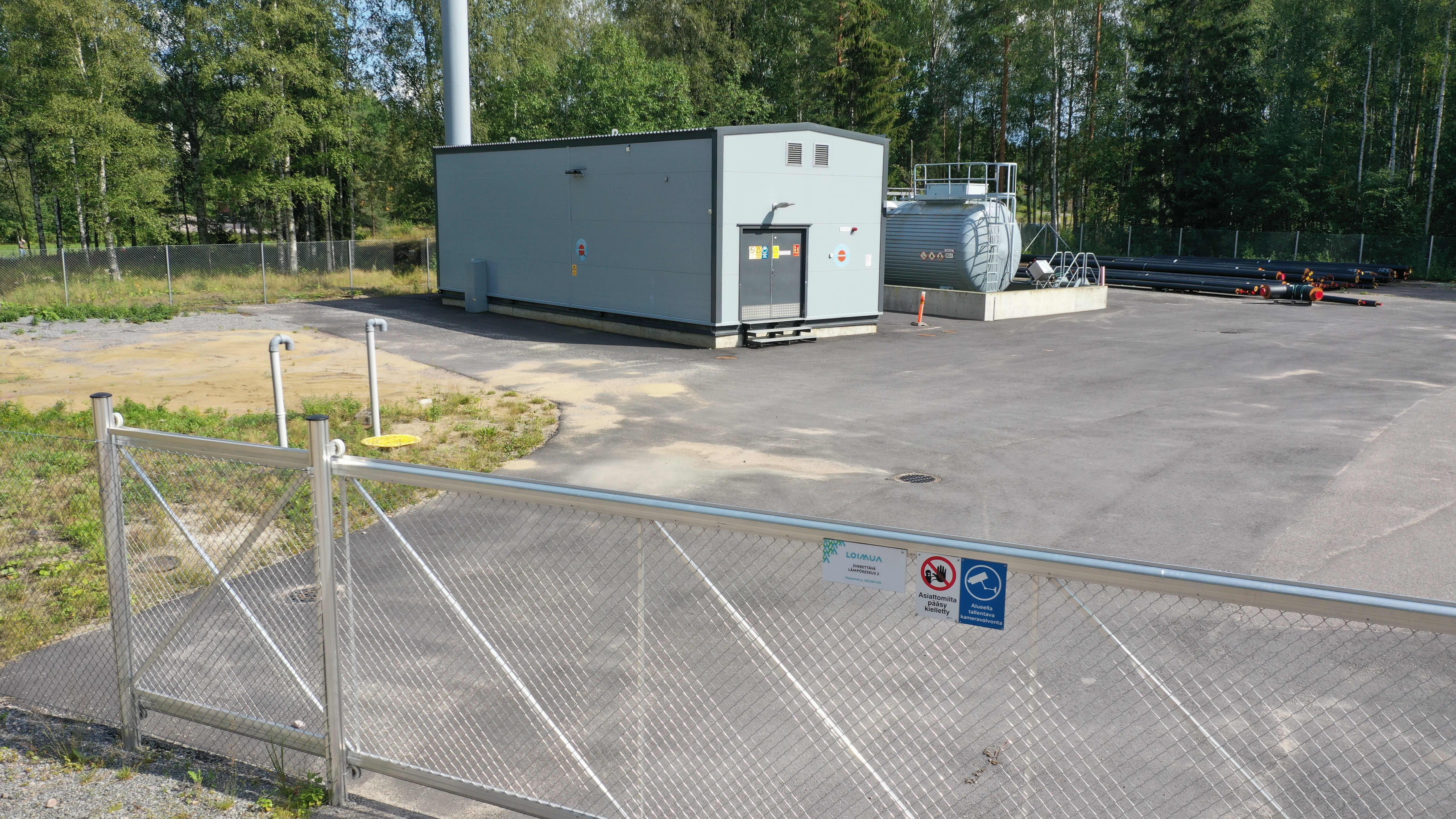 Heinolan Vuohkallion lämpövoimalaitos